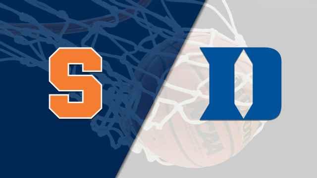 Syracuse vs. #5 Duke (M Basketball)