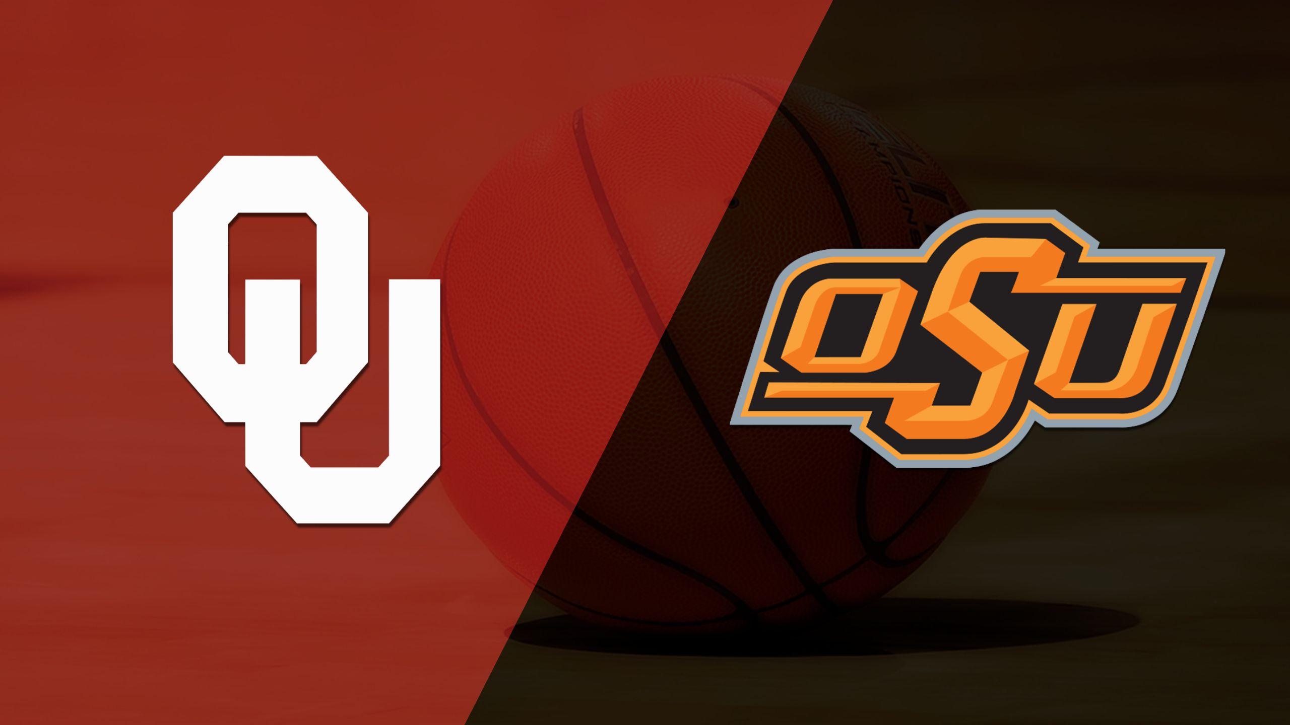 #4 Oklahoma vs. Oklahoma State (M Basketball)