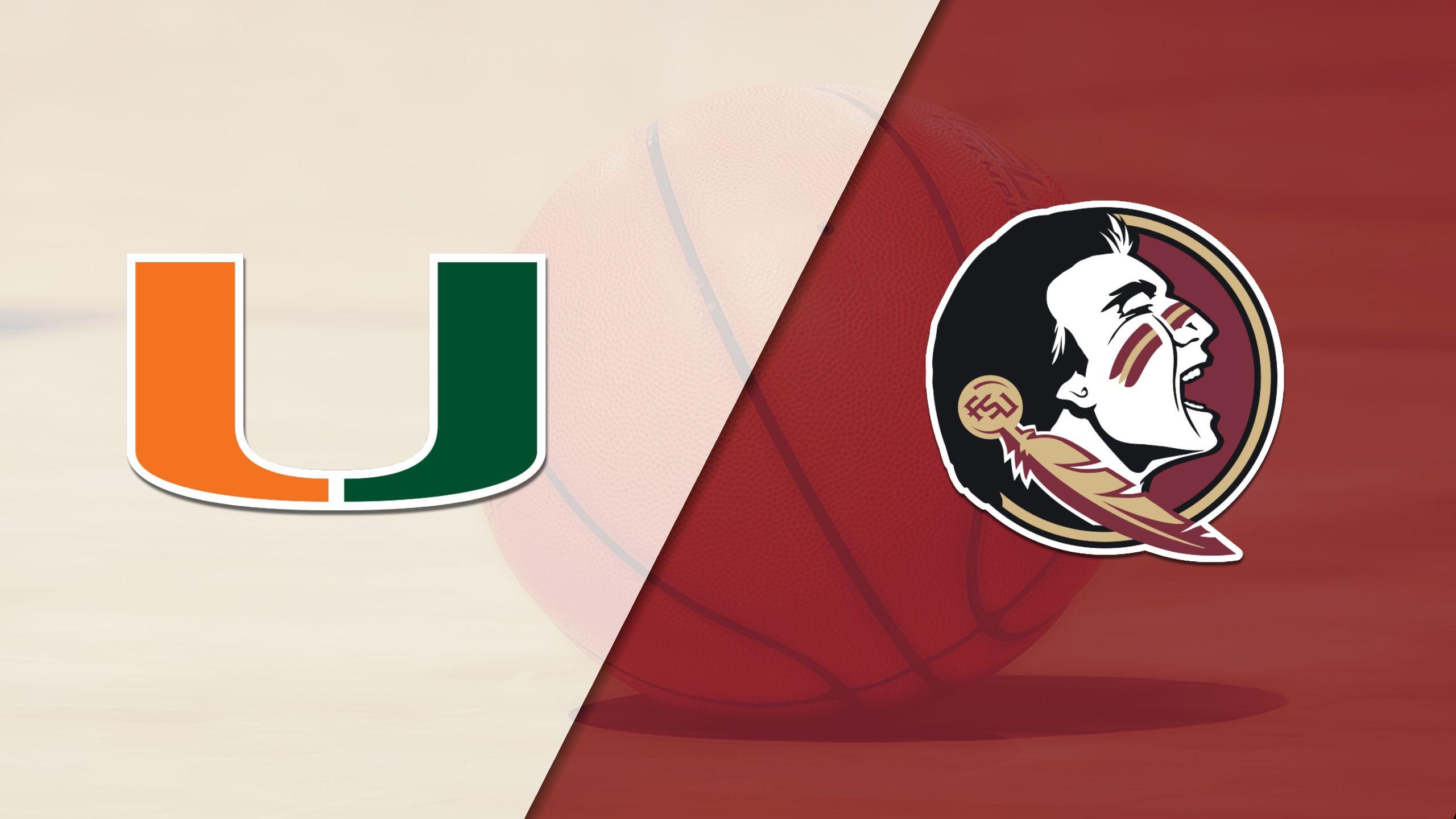 Miami vs. Florida State (M Basketball)