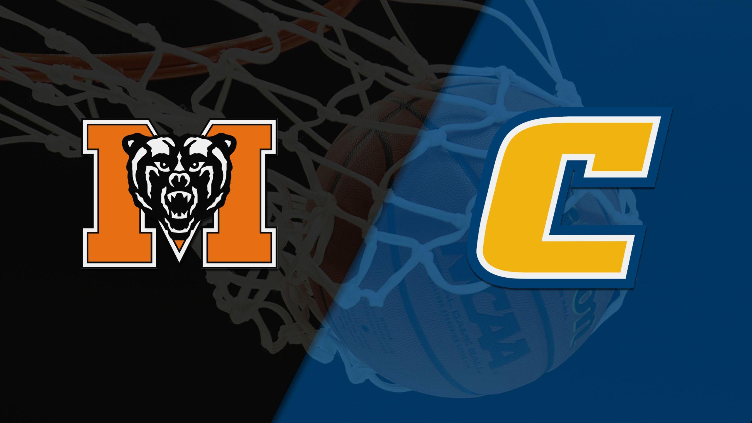 Mercer vs. Chattanooga (M Basketball)