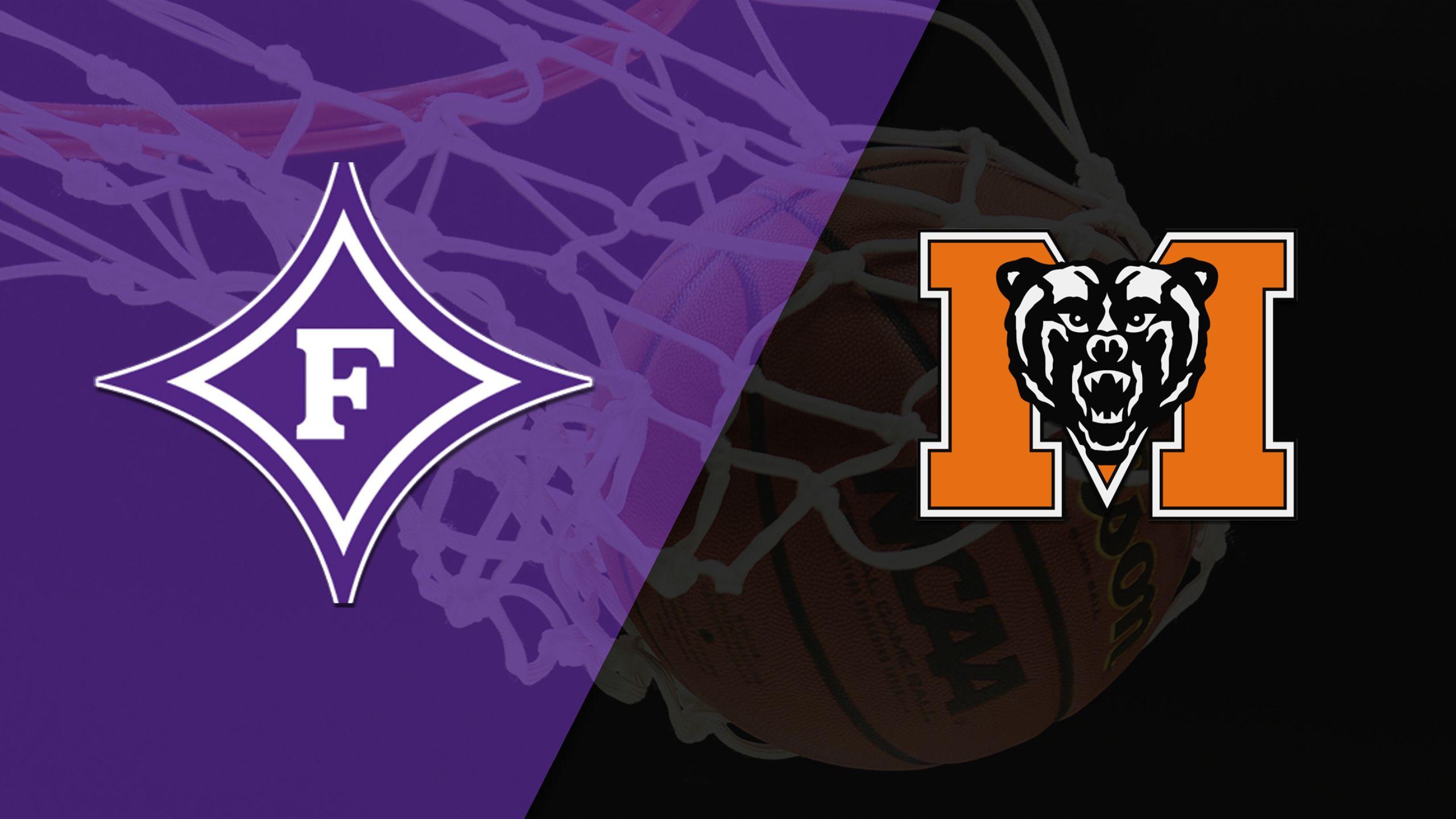 Furman vs. Mercer (M Basketball)