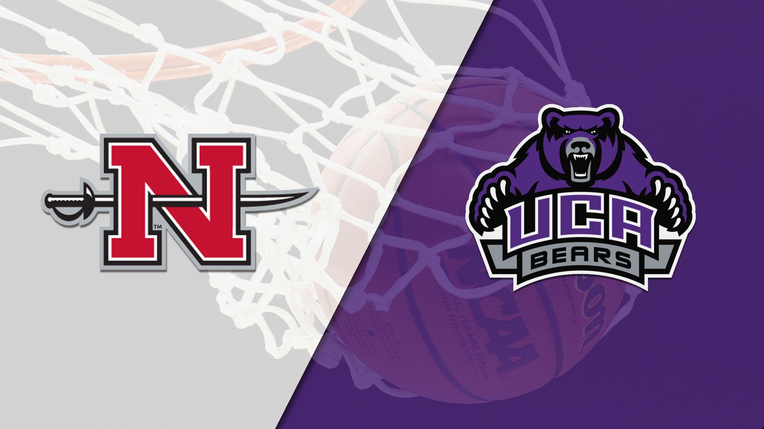 Nicholls vs. Central Arkansas (M Basketball)