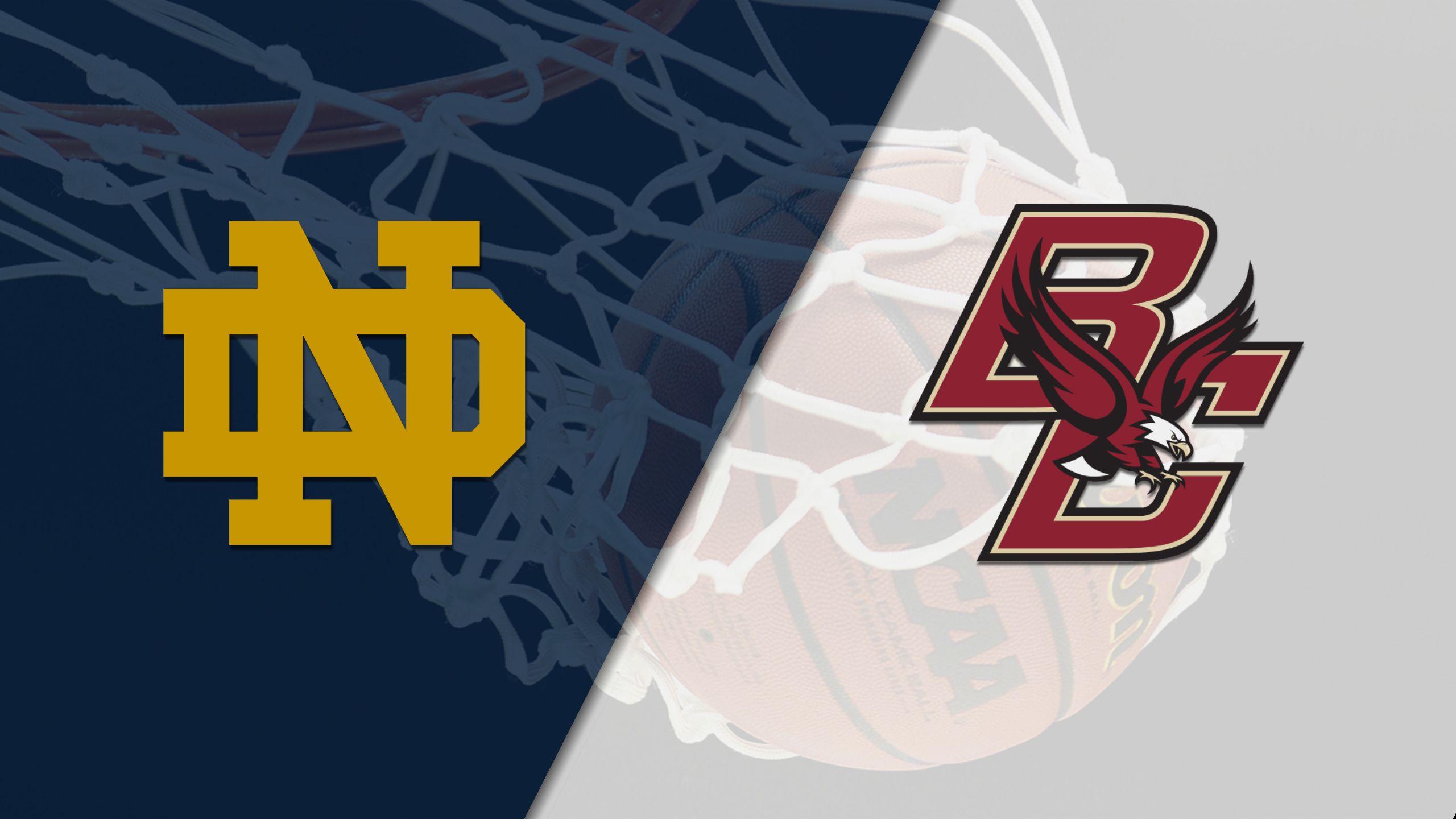 Notre Dame vs. Boston College (M Basketball)
