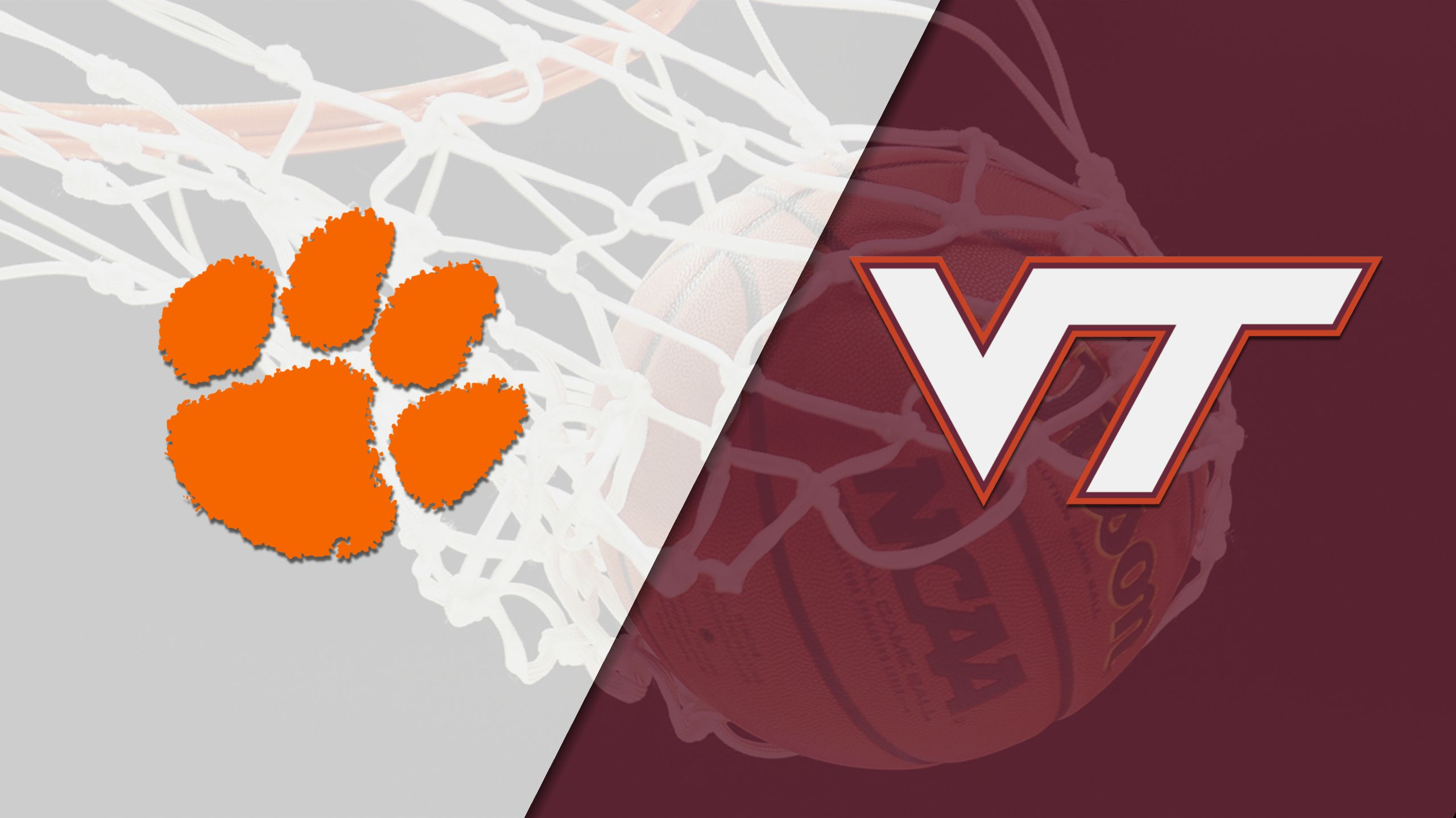 #15 Clemson vs. Virginia Tech (M Basketball)