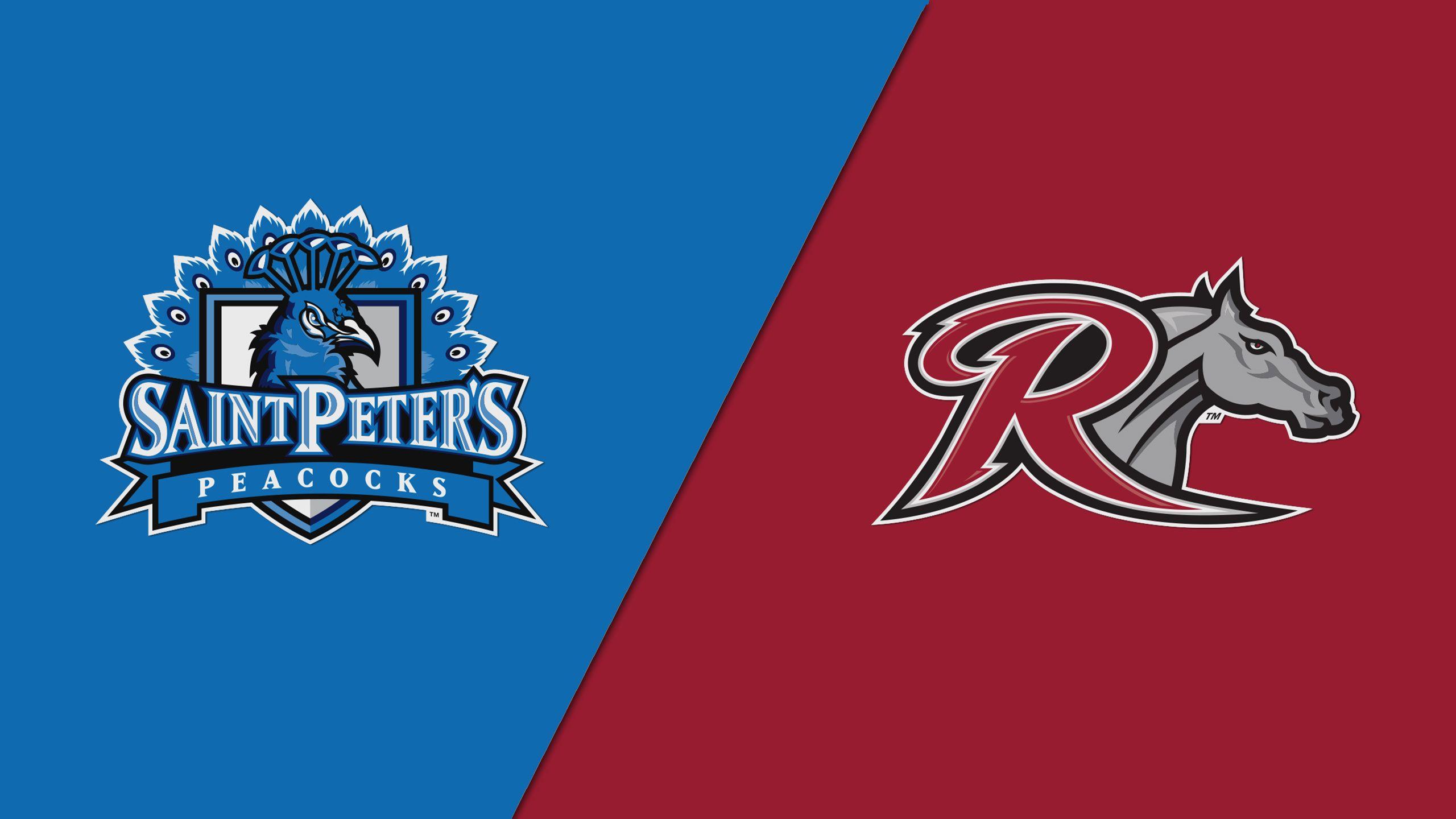 Saint Peter's vs. Rider (Quarterfinal #1) (MAAC Men's Basketball Championship)