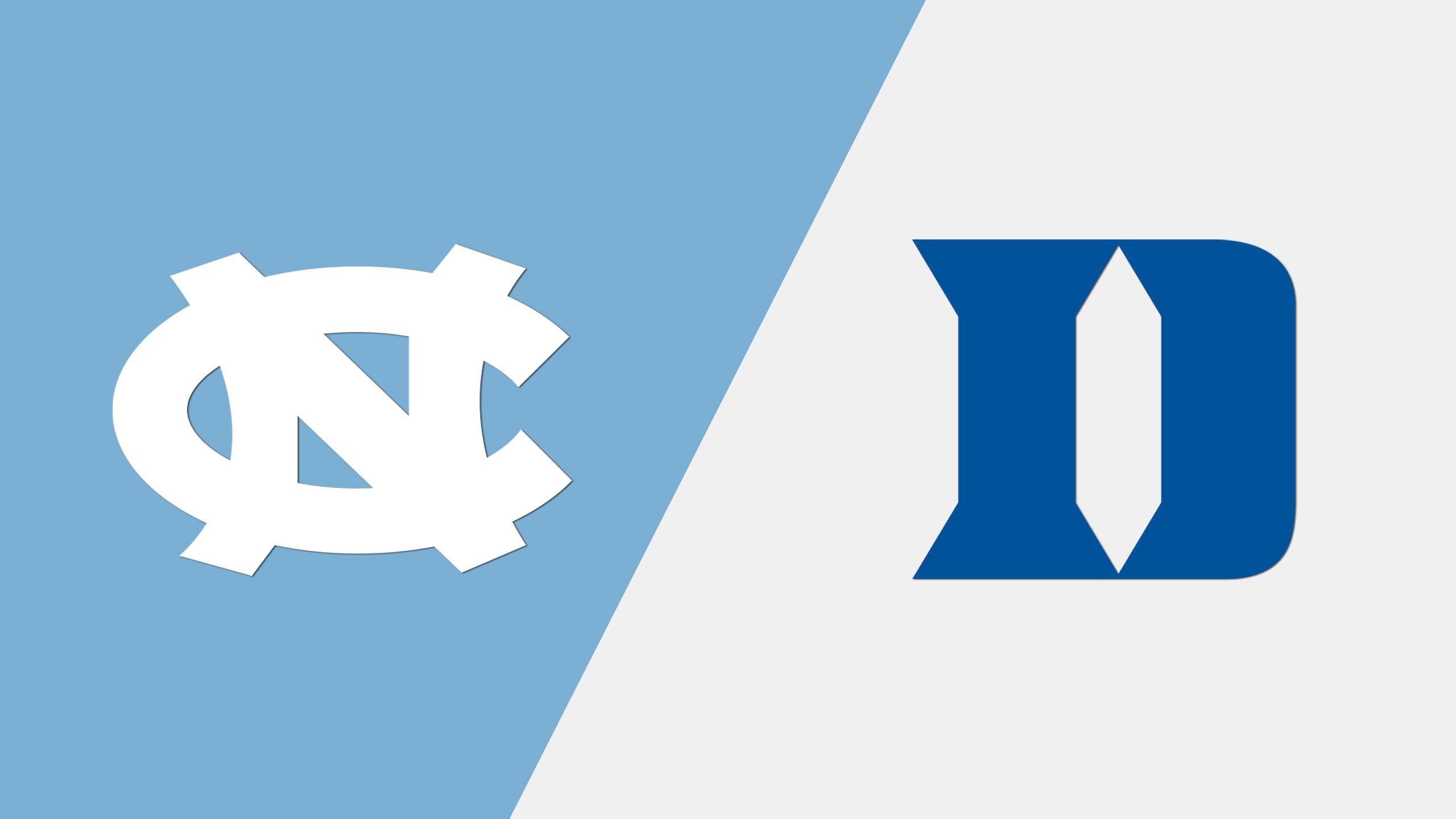 #9 North Carolina vs. #5 Duke (M Basketball) (re-air)