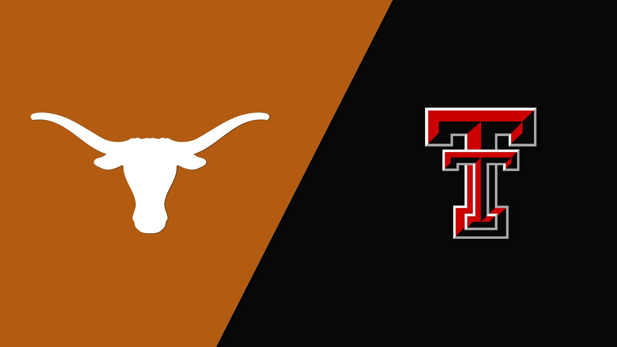 Texas vs. #14 Texas Tech (Quarterfinal #3) (Big 12 Men's Basketball Championship)
