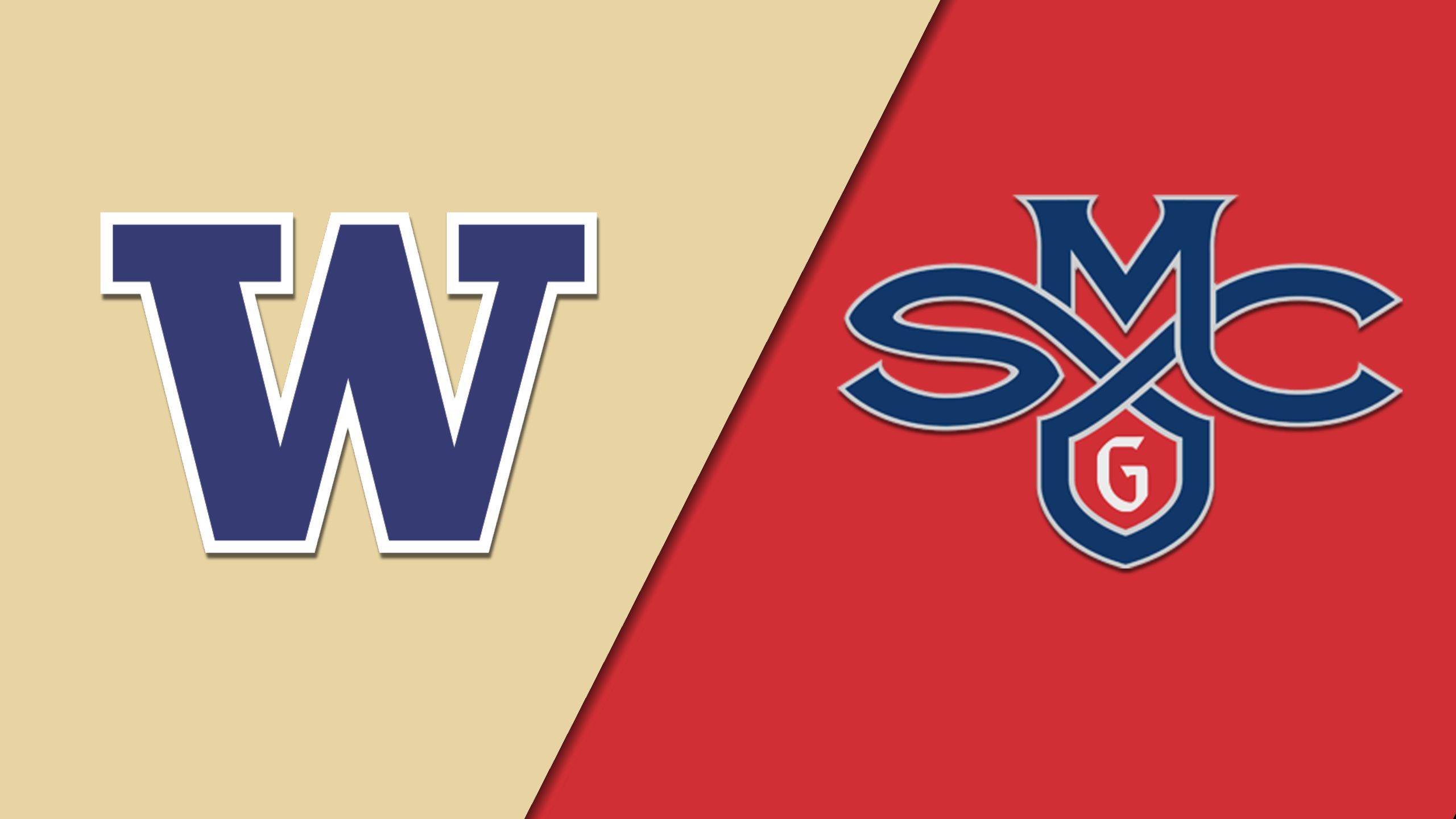 #5 Washington vs. #1 Saint Mary's (Second Round) (NIT)