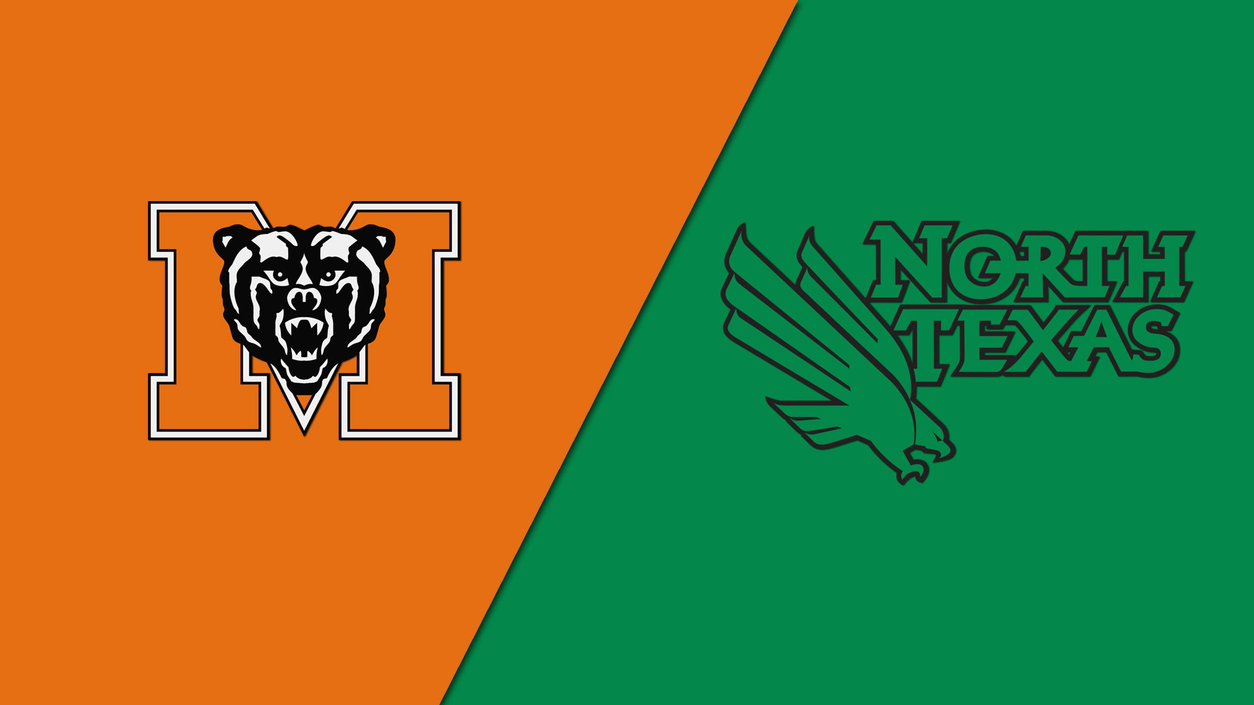 Mercer vs. North Texas (Second Round) (CBI)