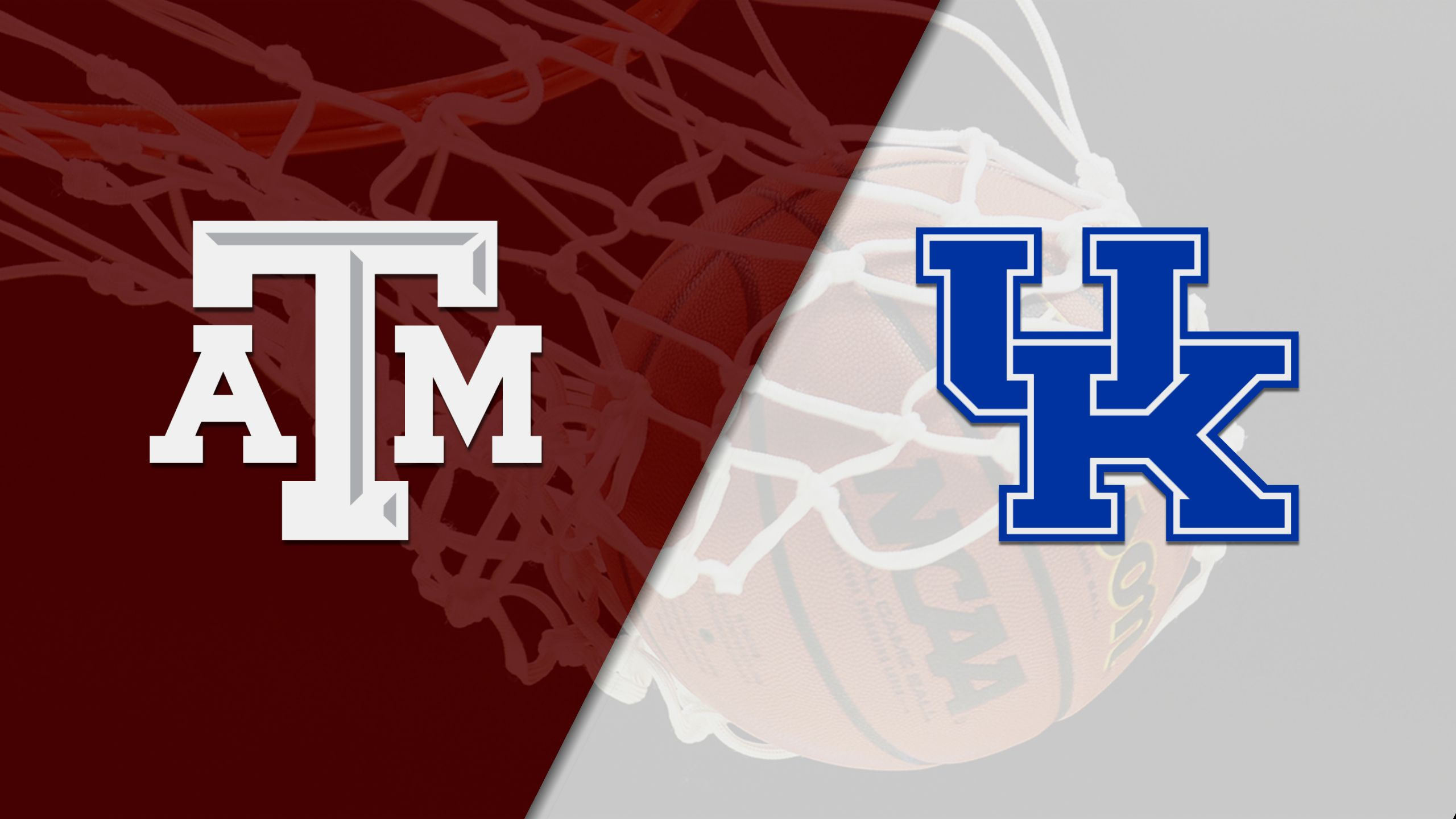 Texas A&M vs. #21 Kentucky (M Basketball) (re-air)