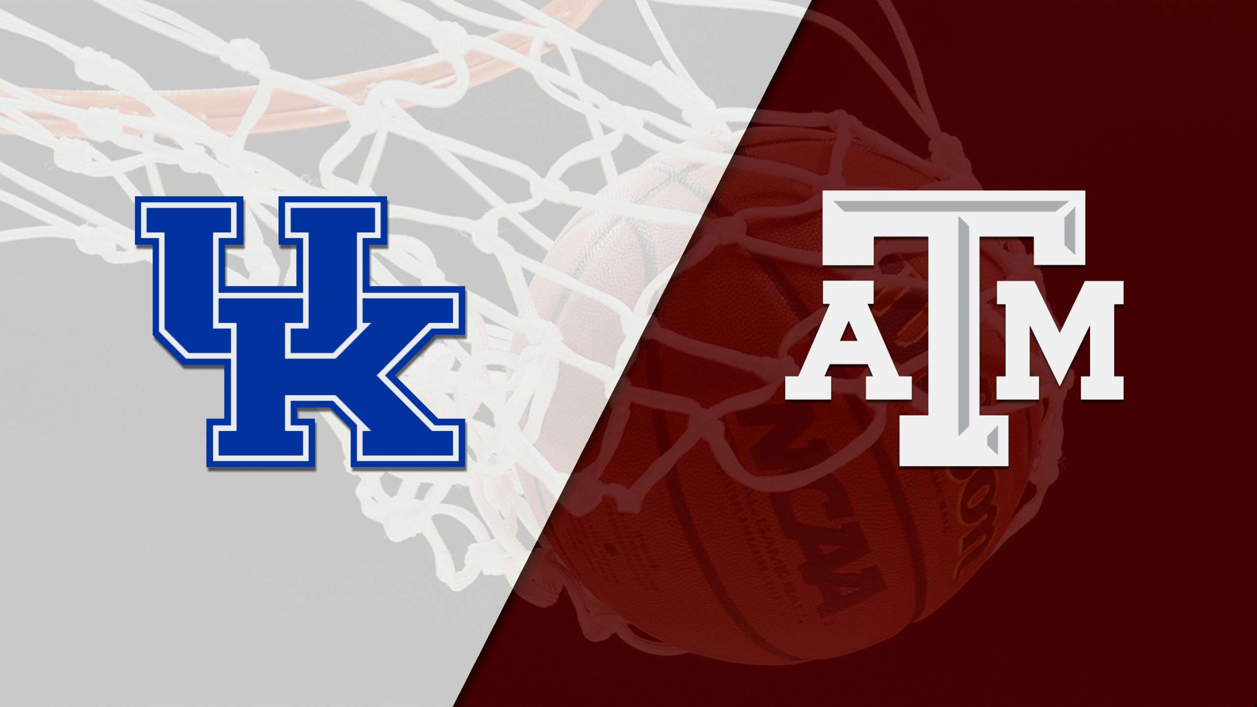 #24 Kentucky vs. Texas A&M (M Basketball) (re-air)