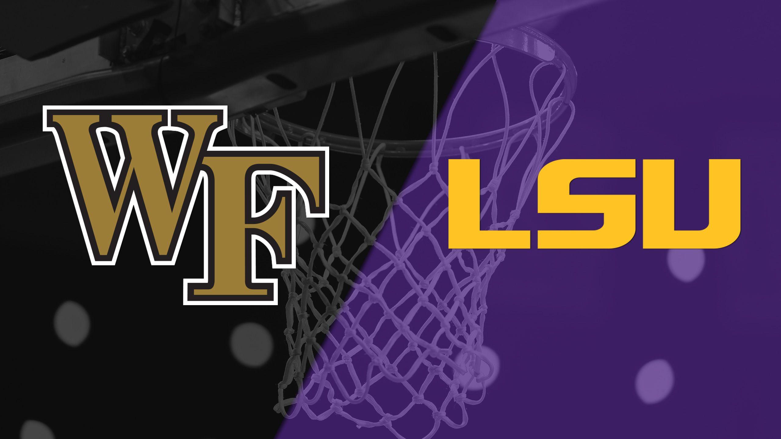 Wake Forest vs. LSU (W Basketball)