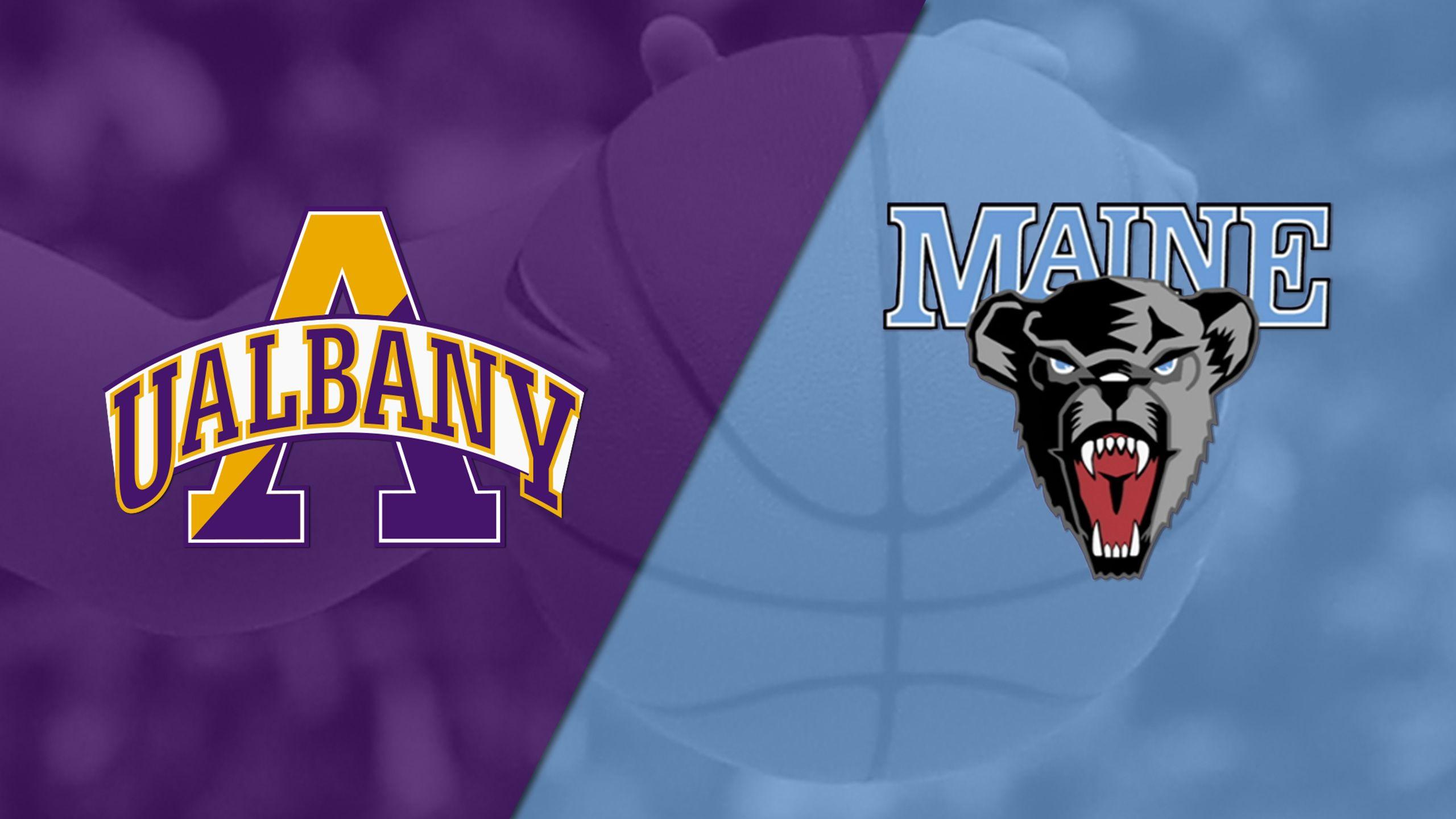 Albany vs. Maine (W Basketball)