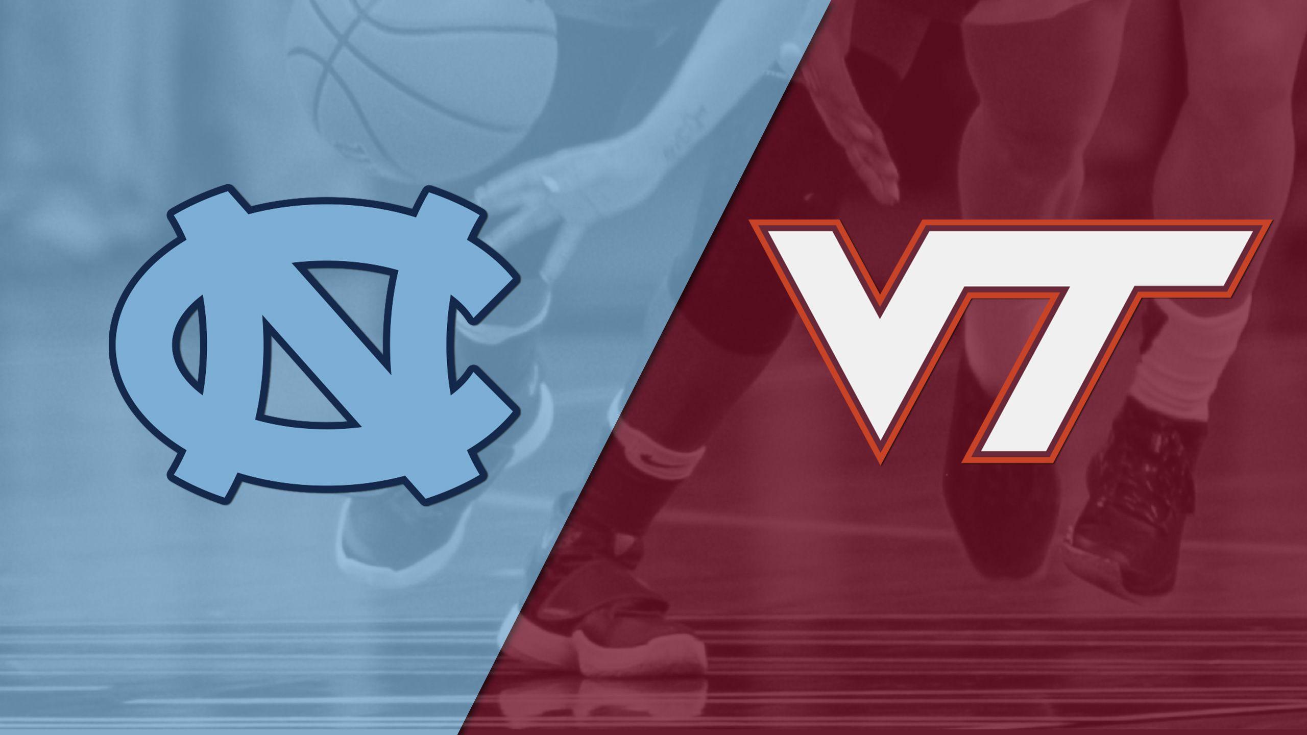 North Carolina vs. #18 Virginia Tech (W Basketball)