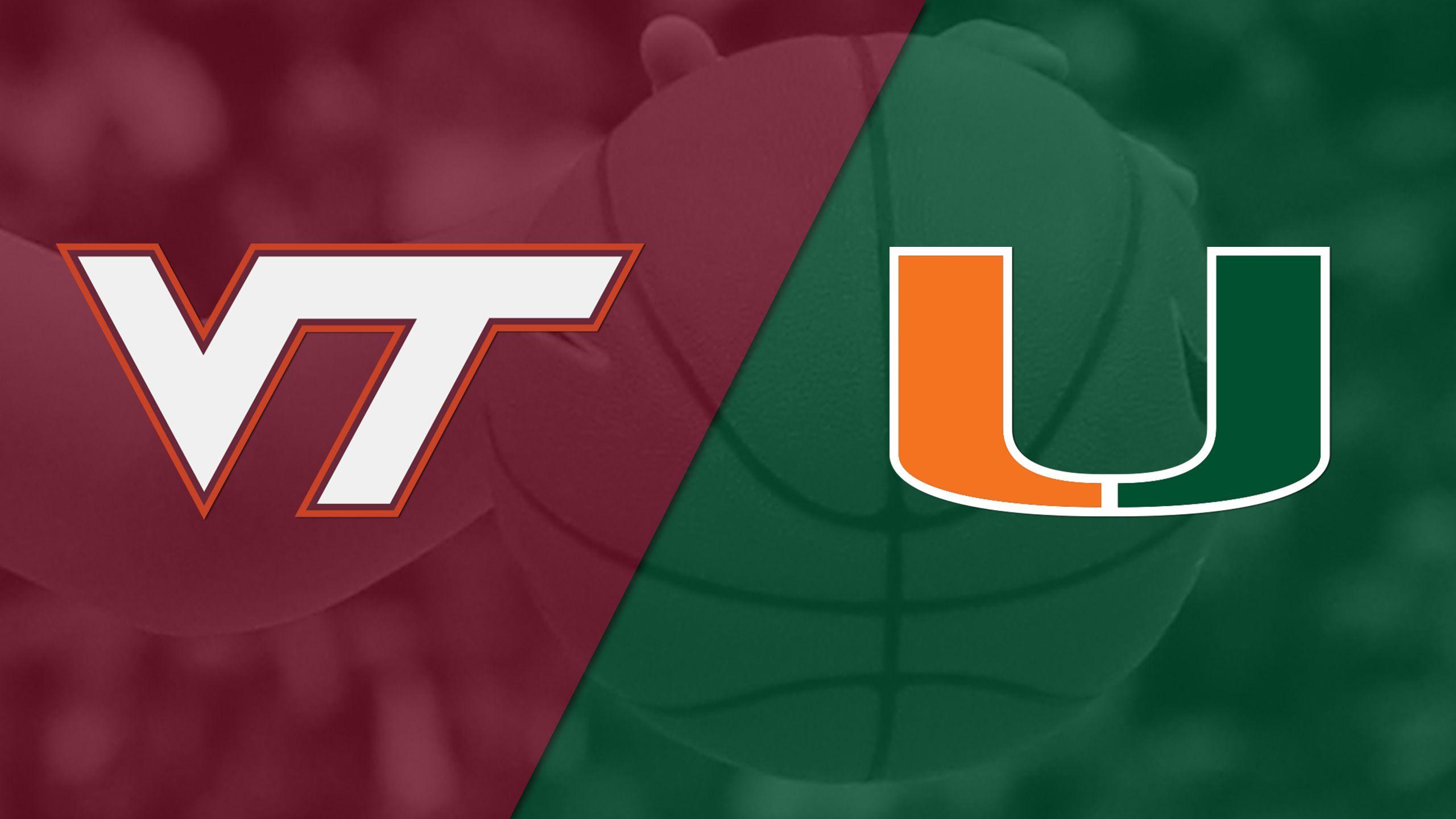 #15 Virginia Tech vs. #14 Miami (W Basketball)