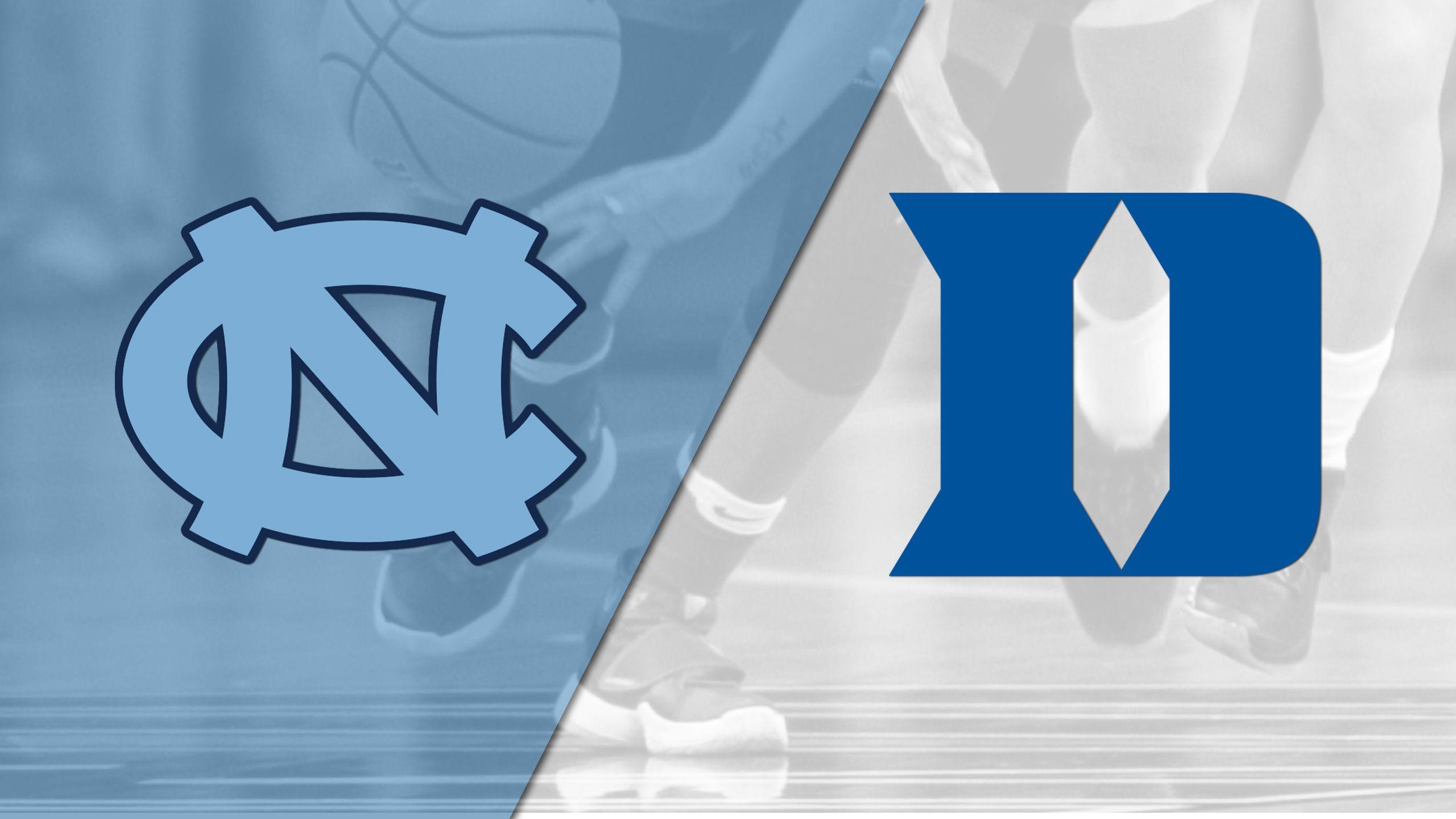 North Carolina vs. #12 Duke (W Basketball)