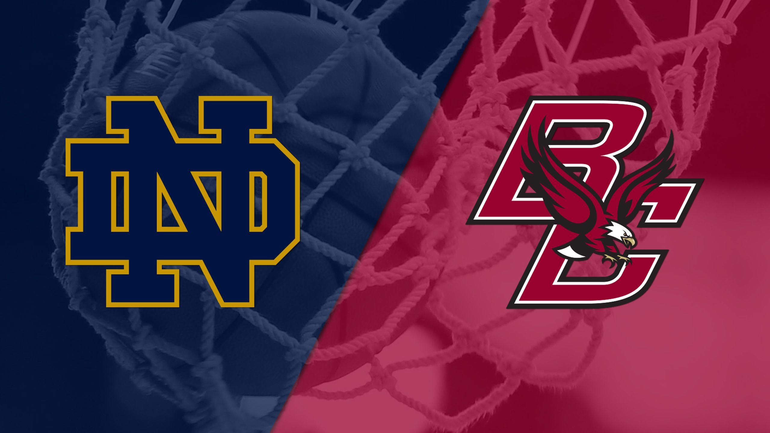 #6 Notre Dame vs. Boston College (W Basketball)