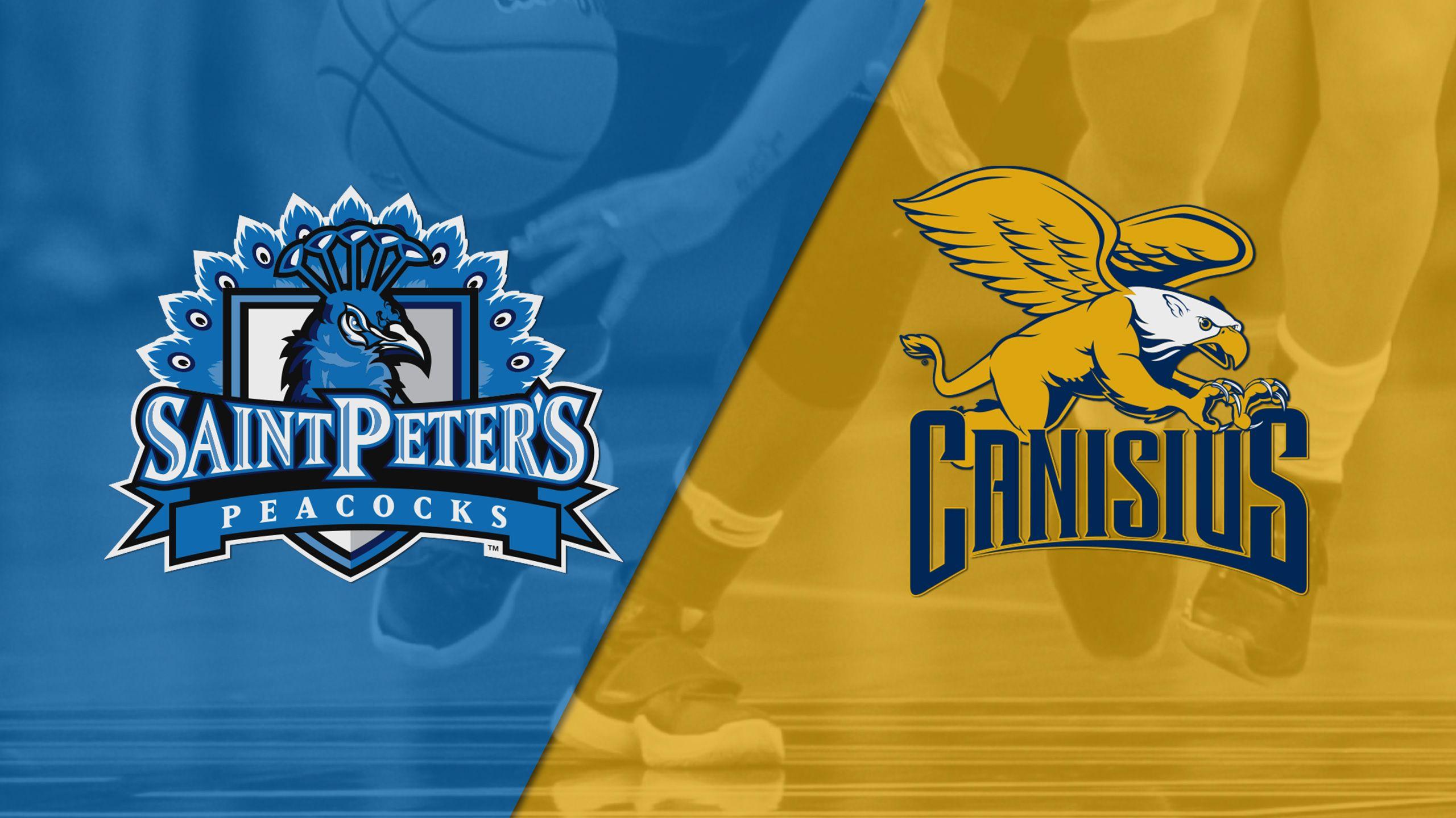 Saint Peter's vs. Canisius (W Basketball)