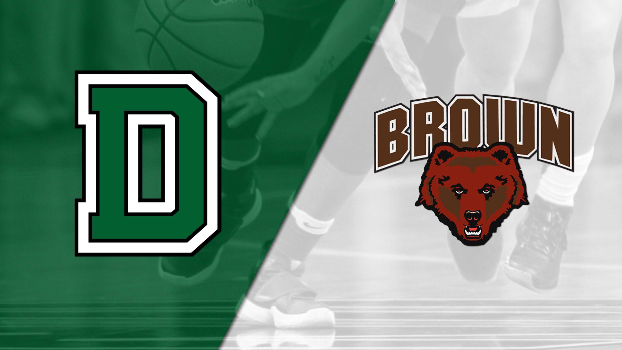 Dartmouth vs. Brown (W Basketball)