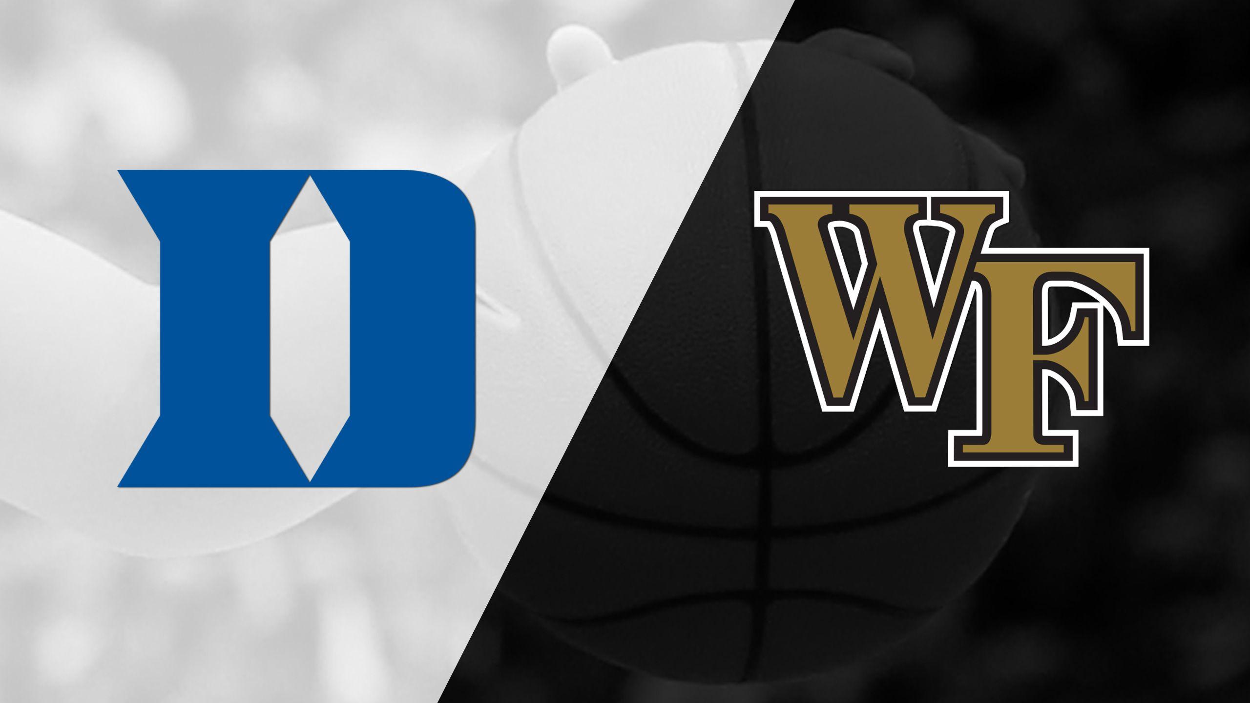 #13 Duke vs. Wake Forest (W Basketball)