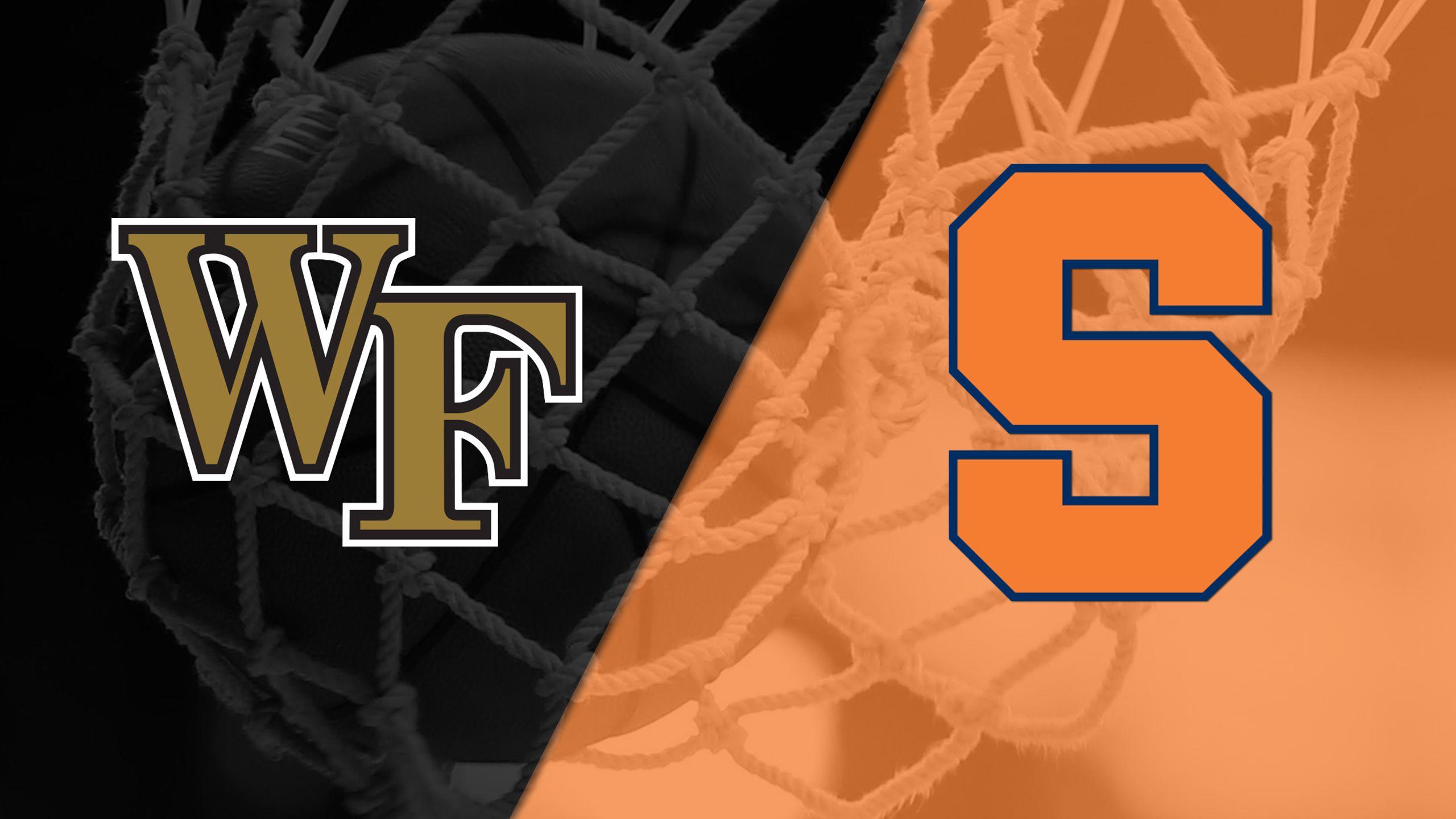 Wake Forest vs. #20 Syracuse (W Basketball)
