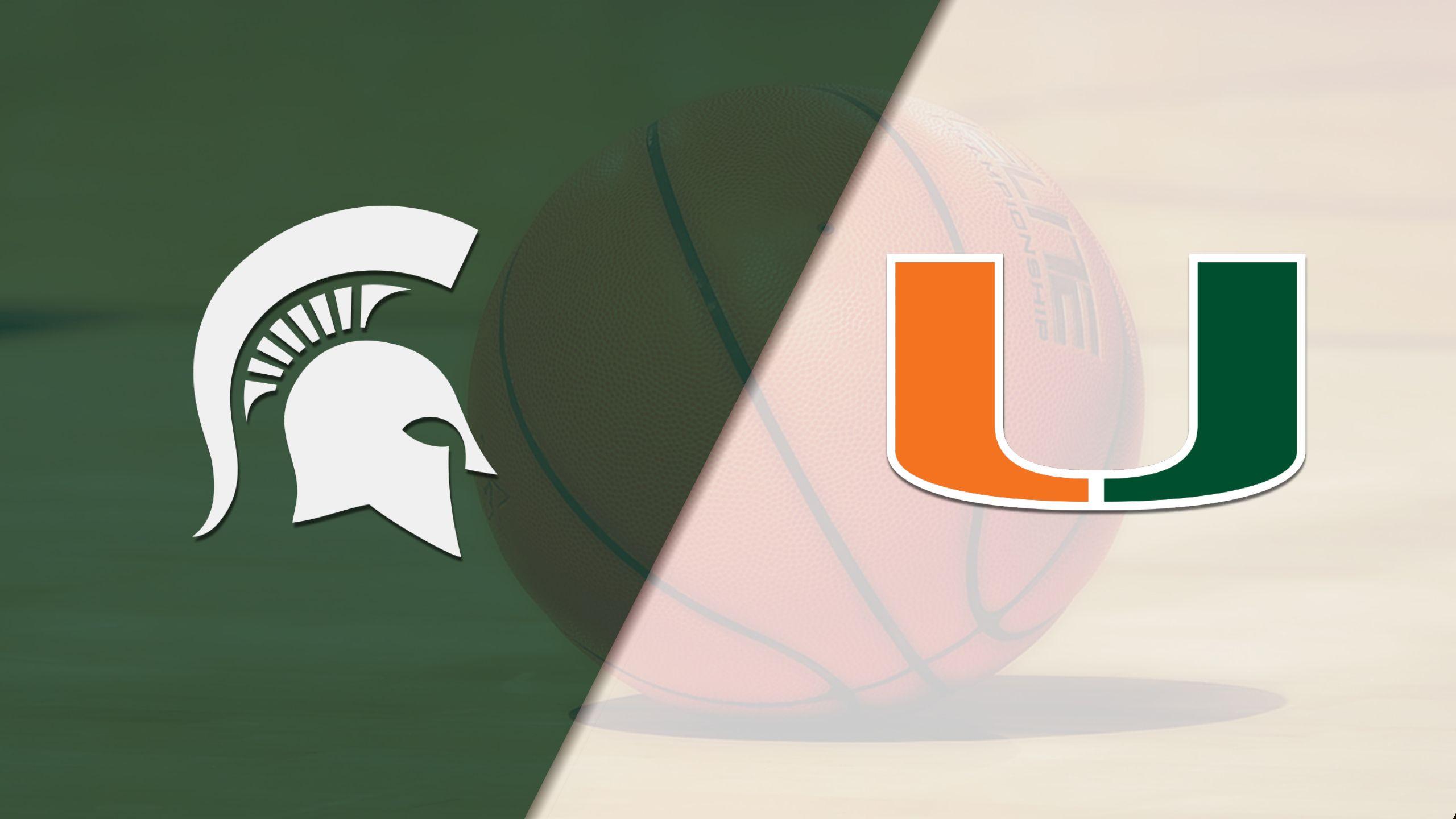 Michigan State vs. Miami (W Basketball)