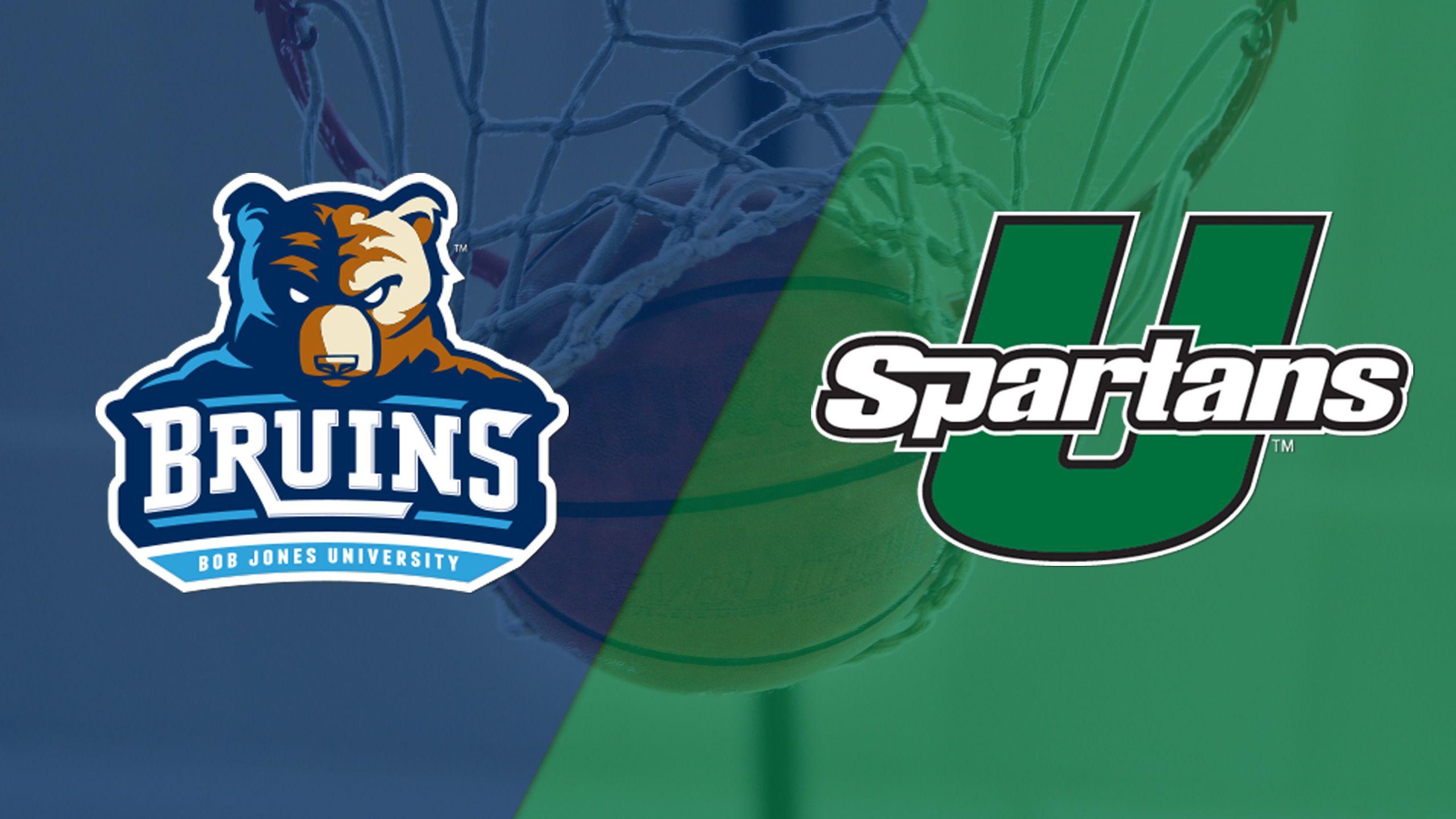 Bob Jones vs. South Carolina Upstate (W Basketball)
