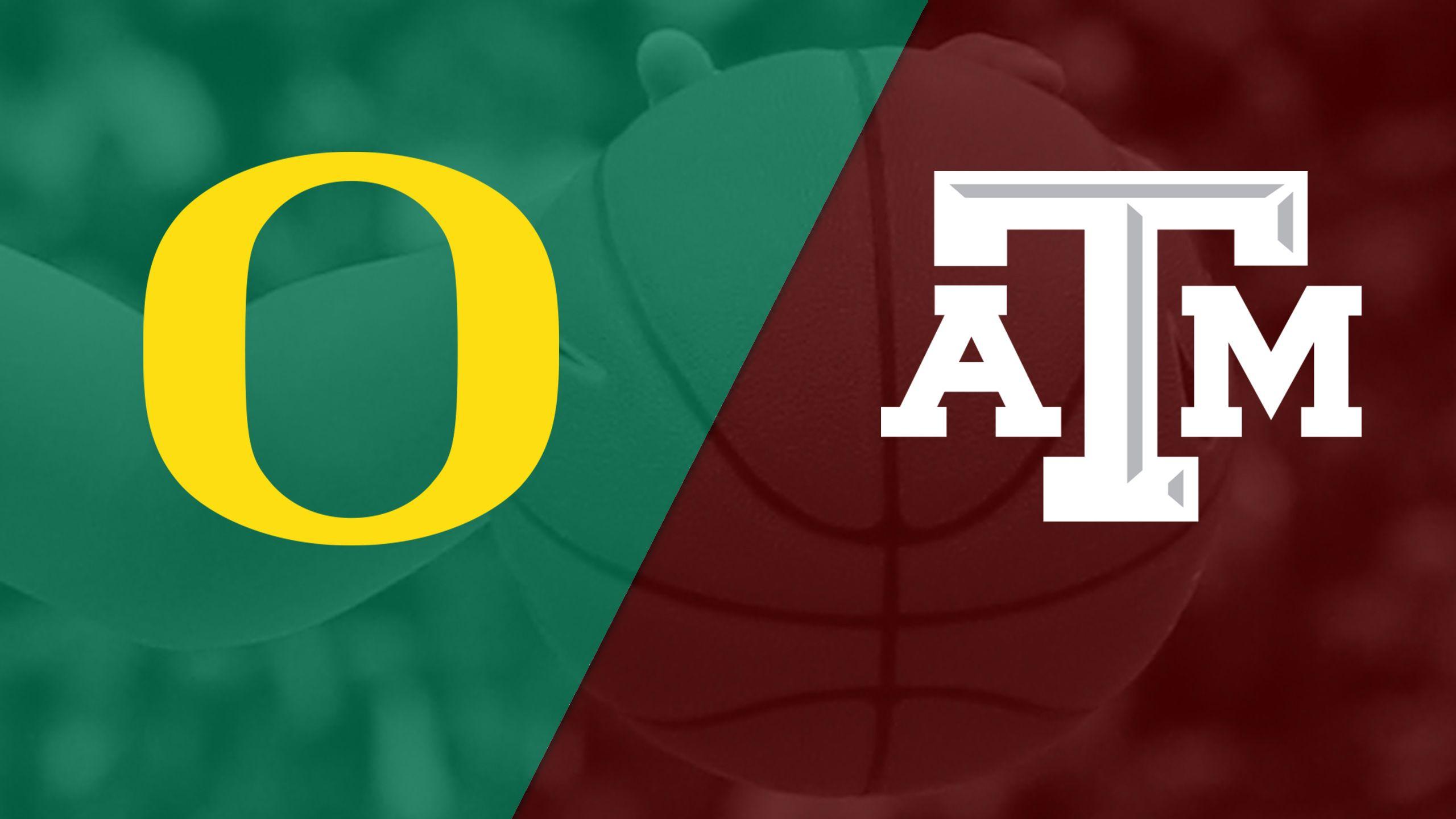 #10 Oregon vs. #19 Texas A&M (W Basketball)