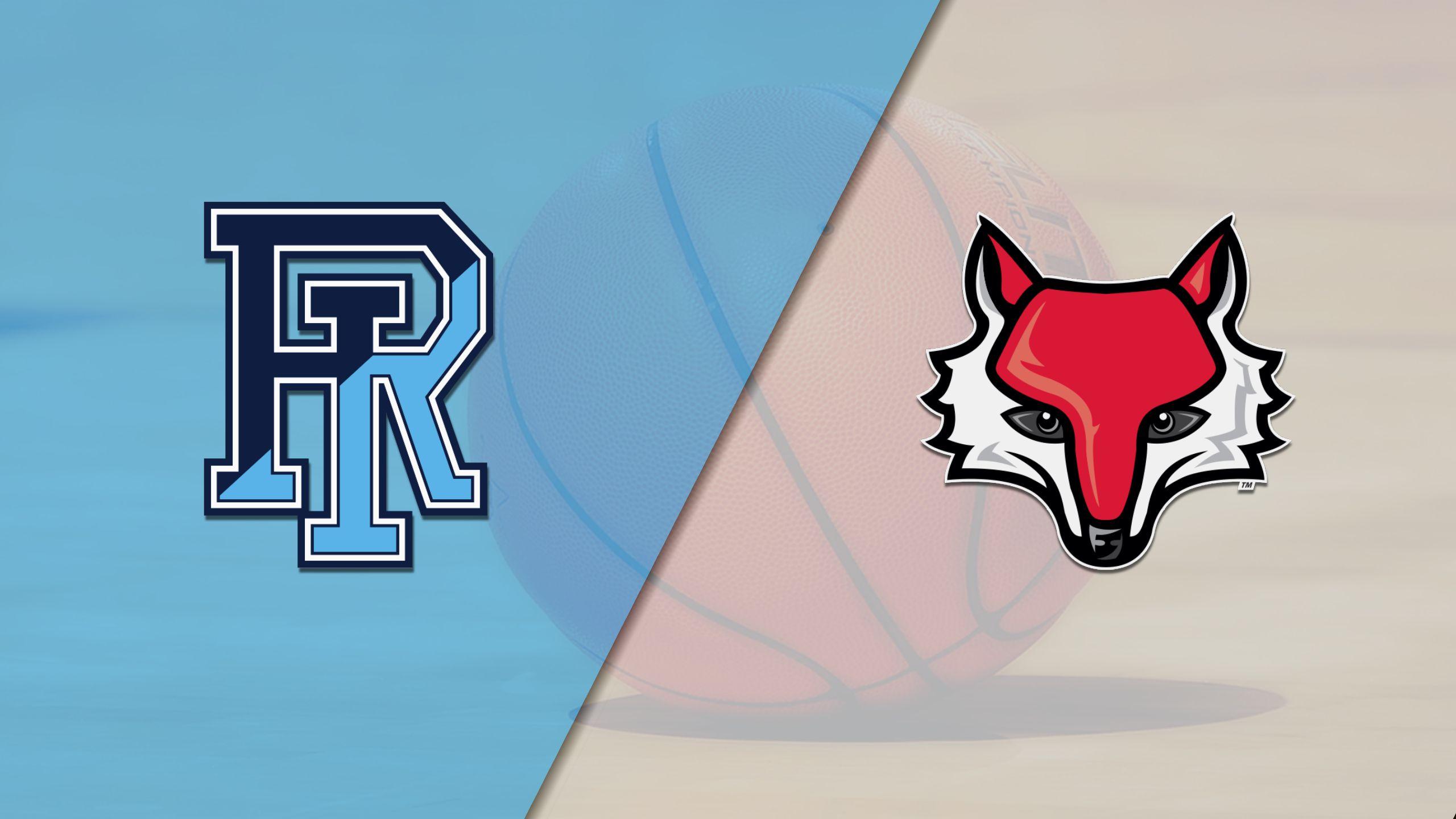 Rhode Island vs. Marist (W Basketball)