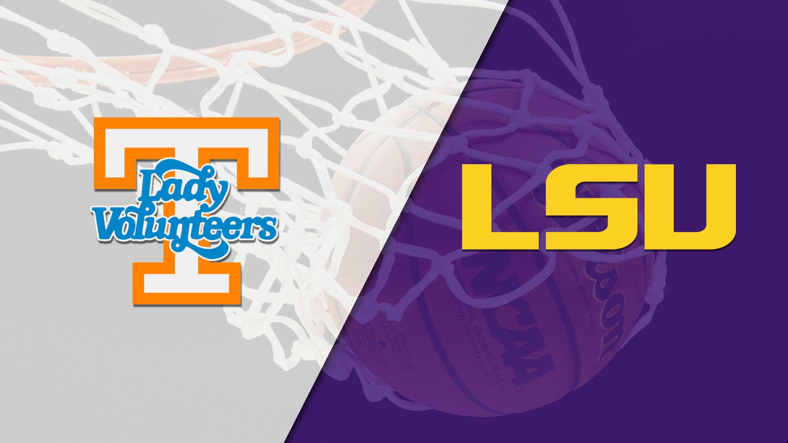 #10 Tennessee vs. LSU (W Basketball)