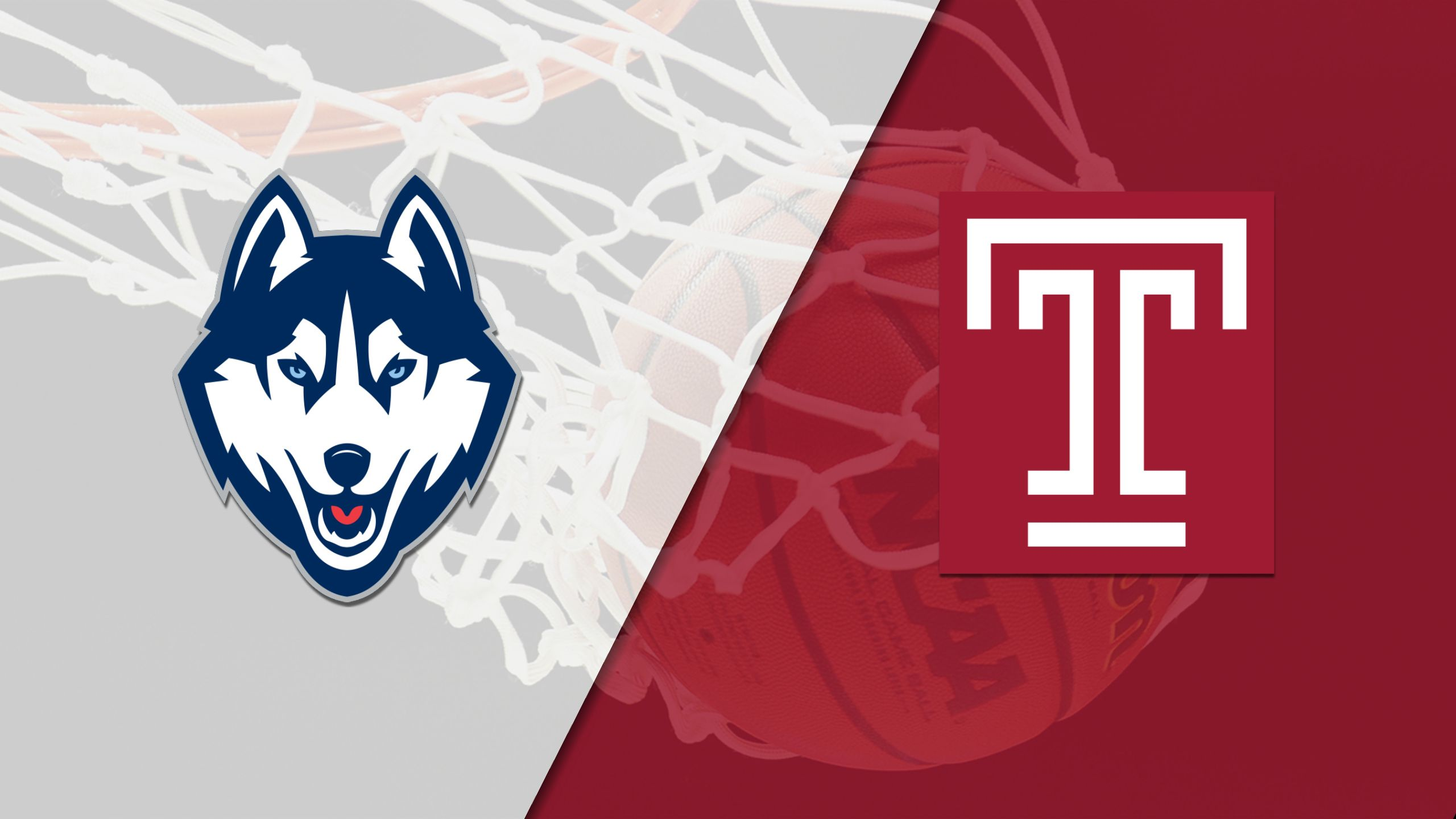 #1 Connecticut vs. Temple (W Basketball)