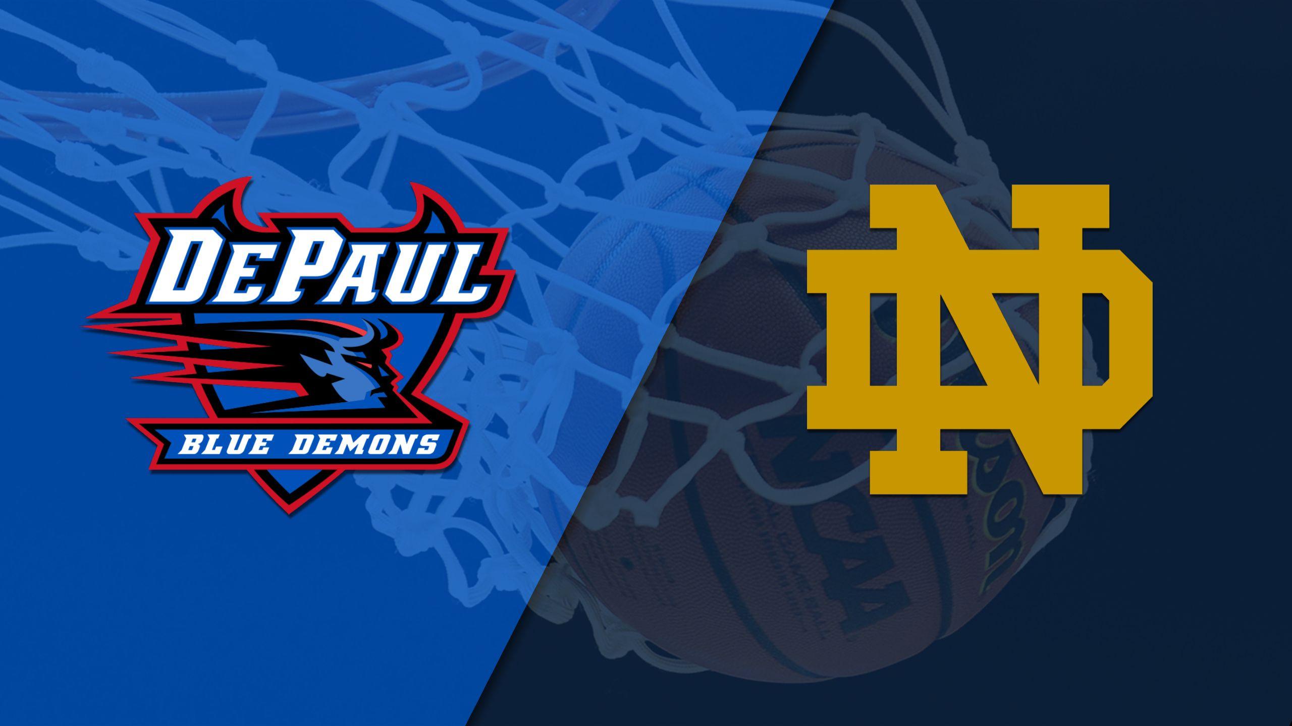 DePaul vs. #2 Notre Dame (W Basketball)