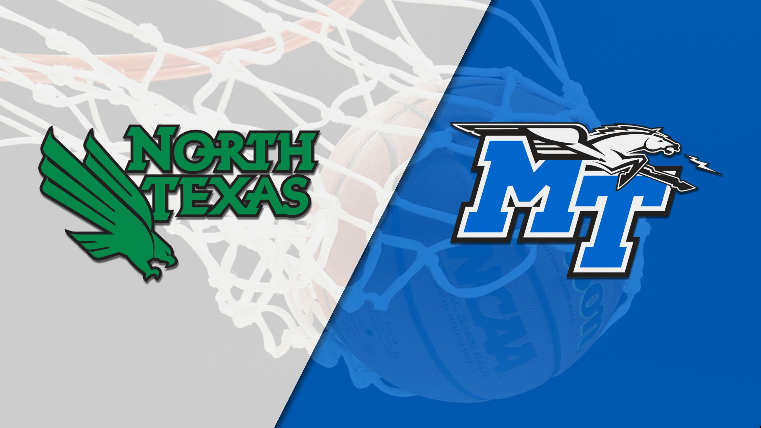 North Texas vs. Middle Tennessee (W Basketball)