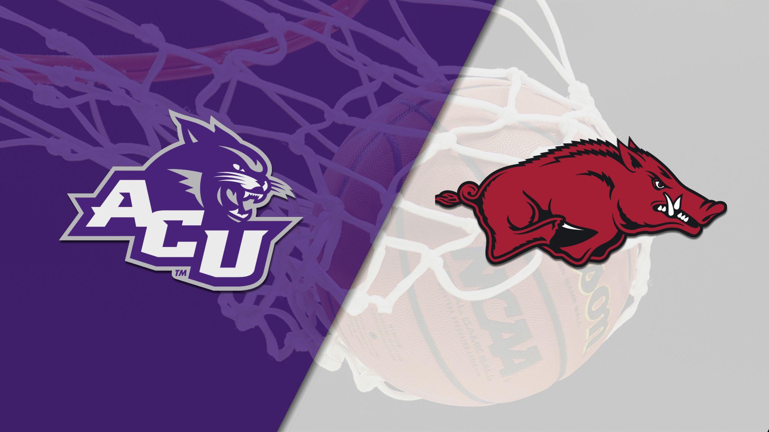 Abilene Christian vs. Arkansas (W Basketball)