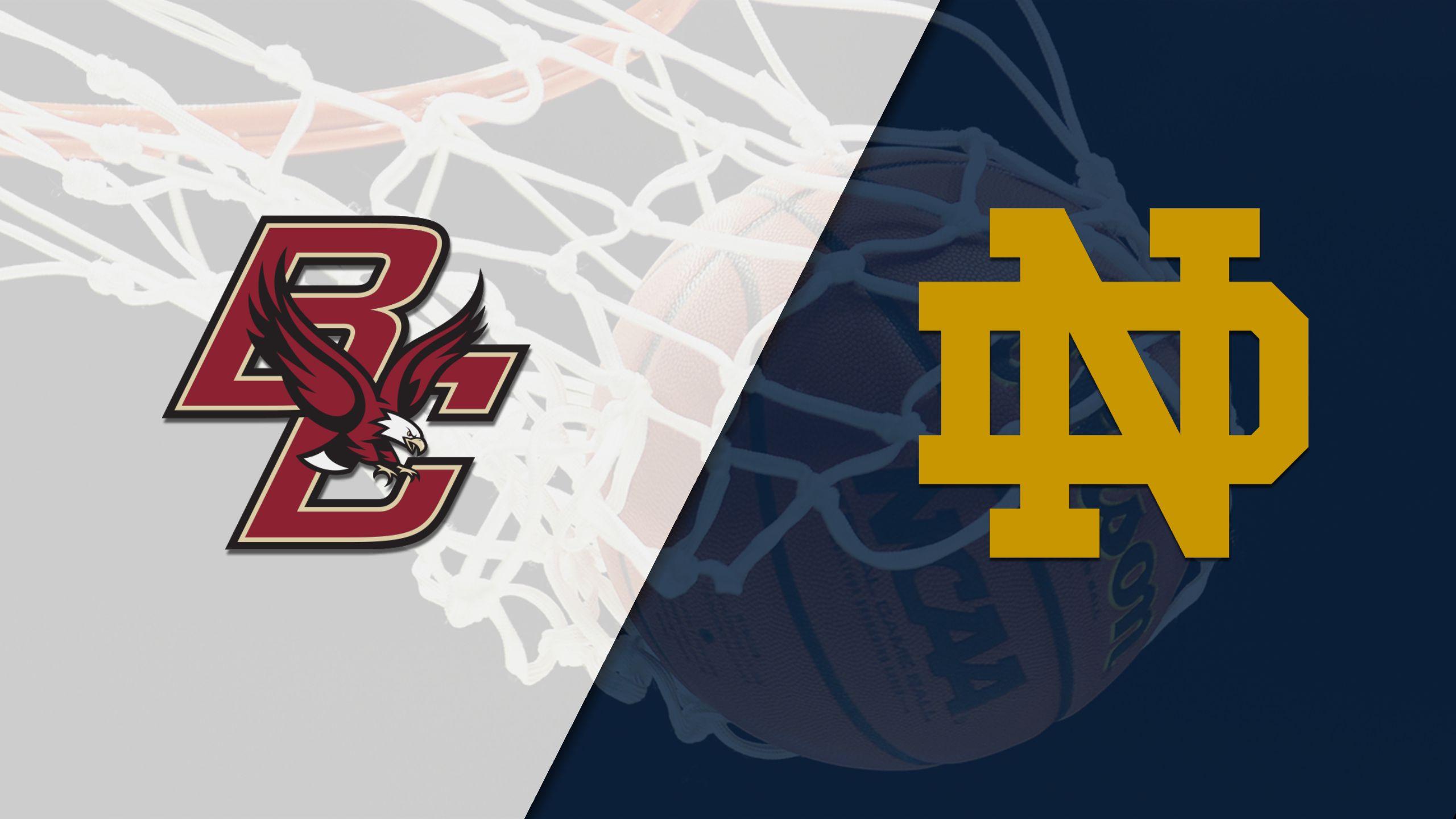 Boston College vs. #2 Notre Dame (W Basketball)