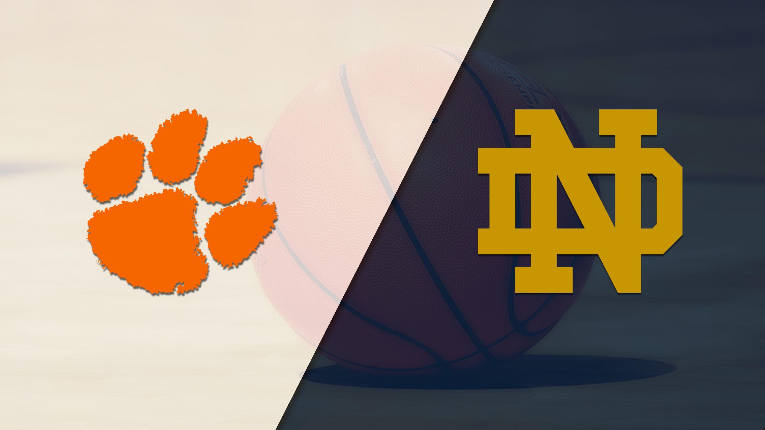 Clemson vs. #5 Notre Dame (W Basketball)