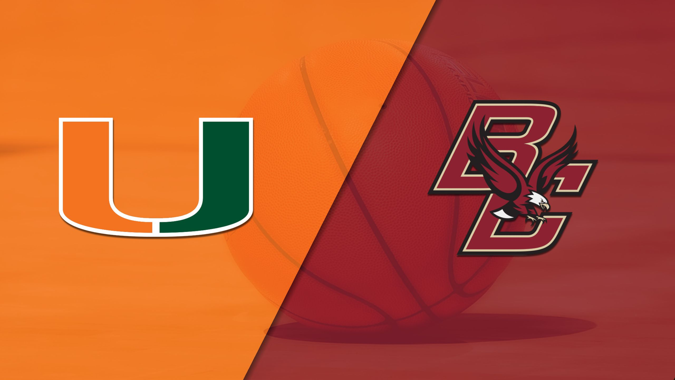 Miami vs. Boston College (W Basketball)