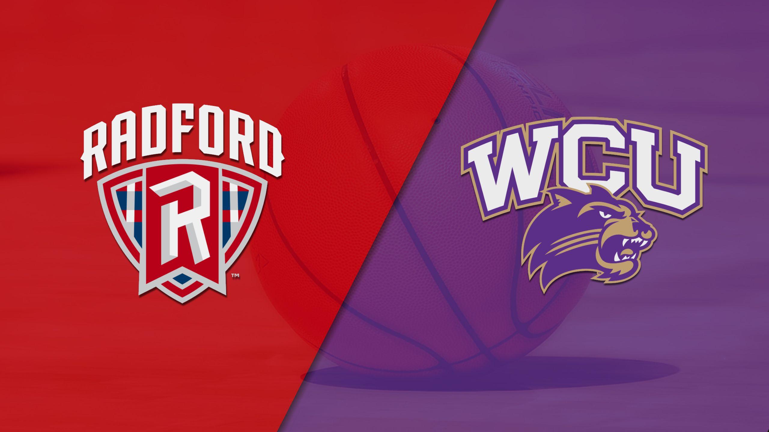 Radford vs. Western Carolina (W Basketball)