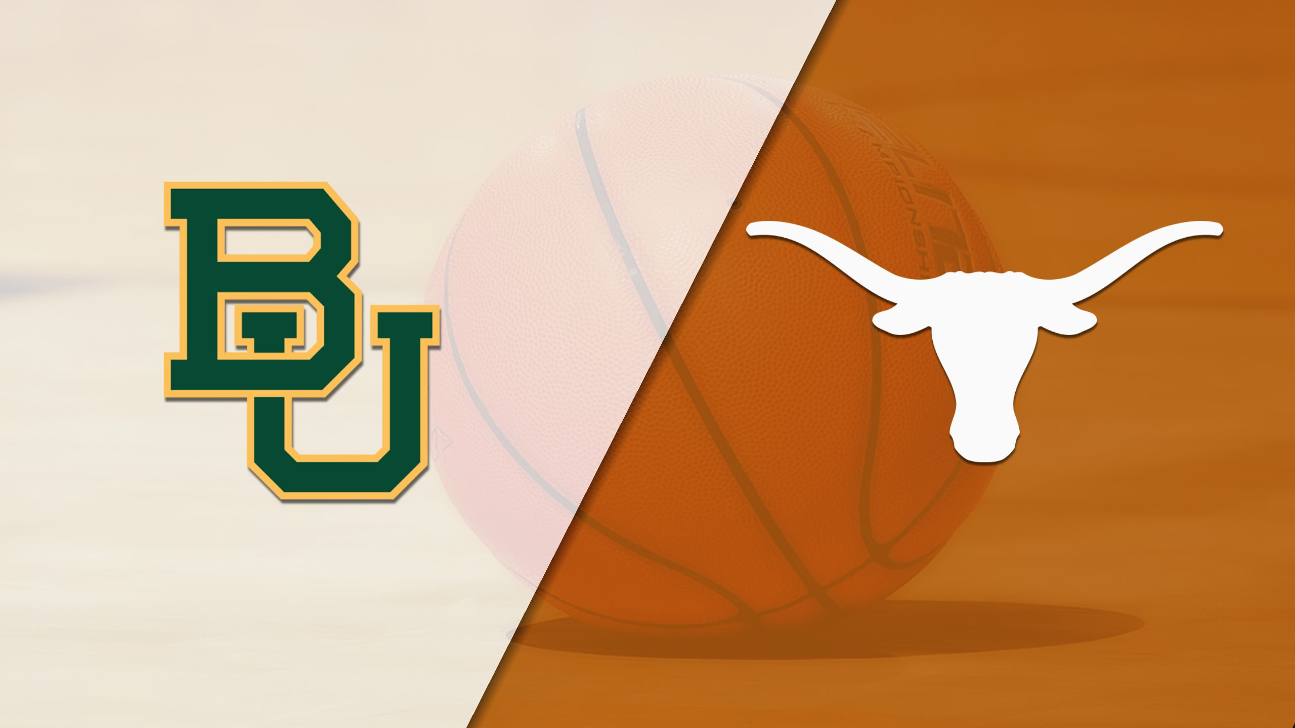 #3 Baylor vs. #6 Texas (W Basketball) (re-air)