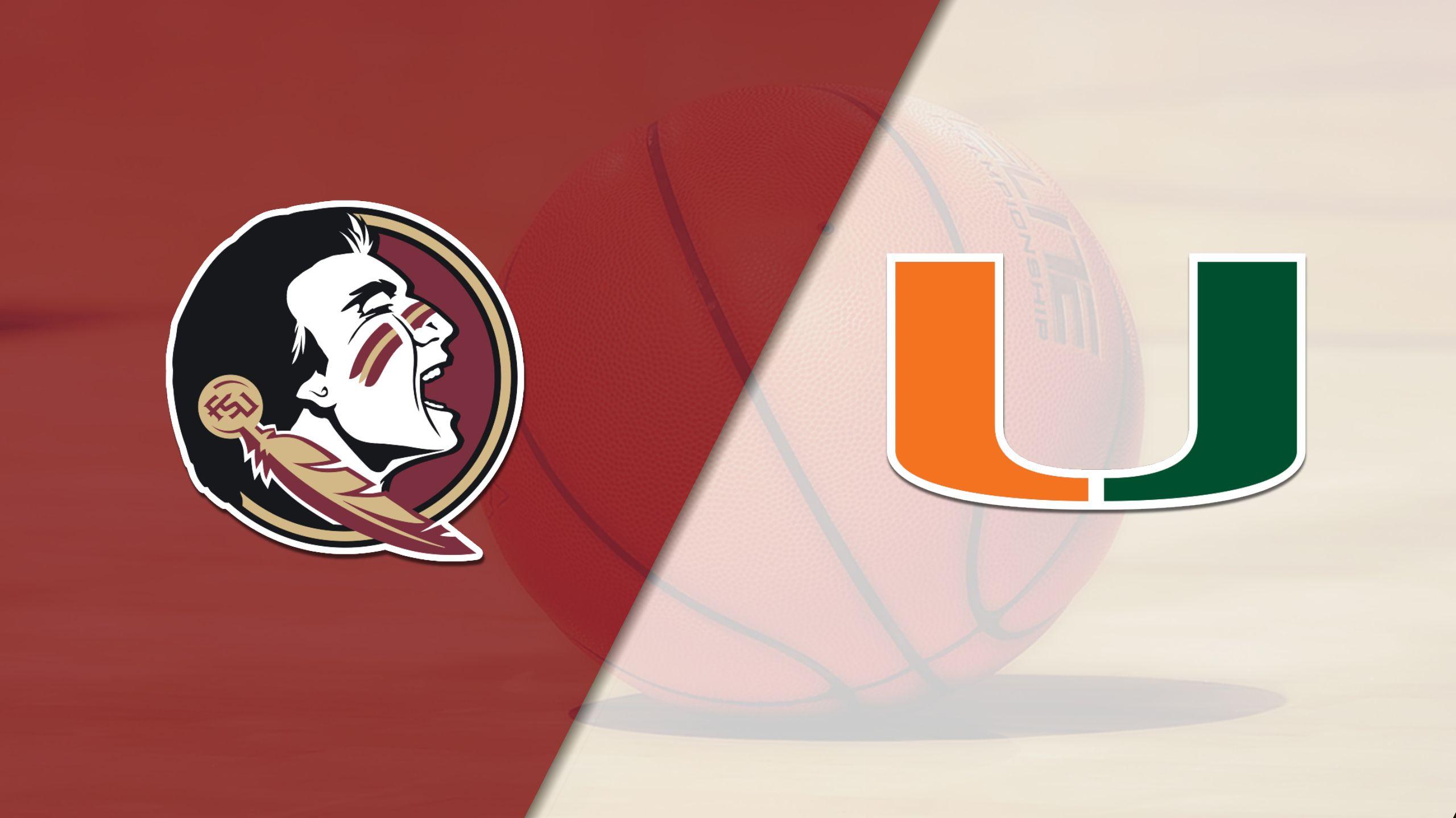 #12 Florida State vs. Miami (W Basketball)