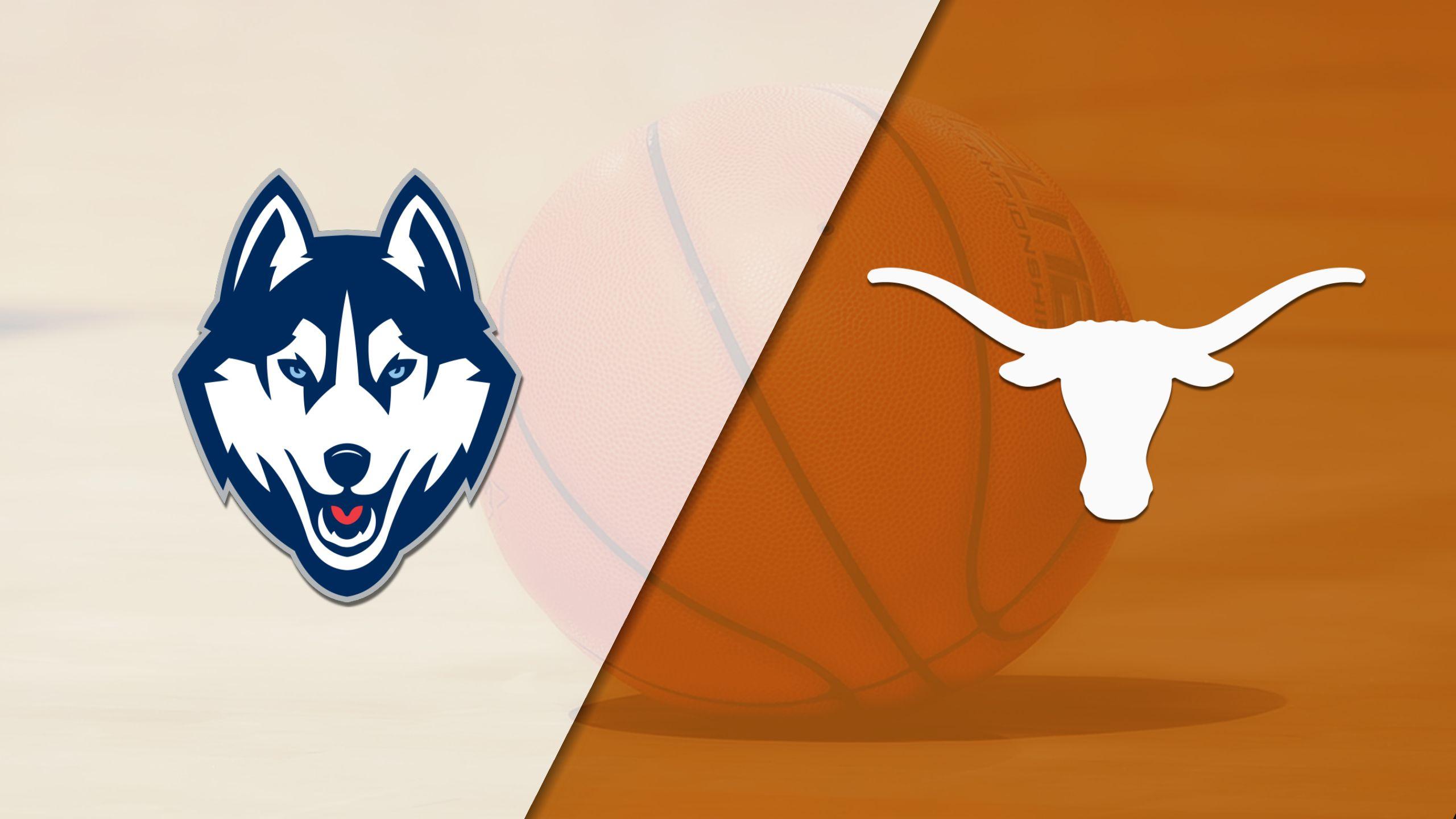 #1 Connecticut vs. #9 Texas (W Basketball) (re-air)