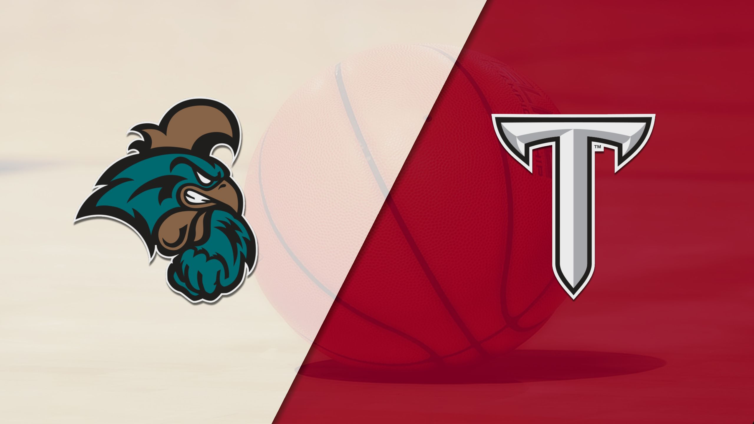 Coastal Carolina vs. Troy (W Basketball)