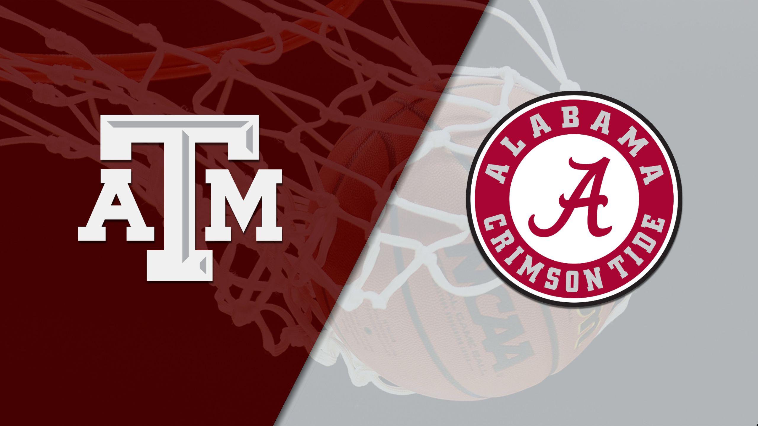 #16 Texas A&M vs. Alabama (W Basketball)
