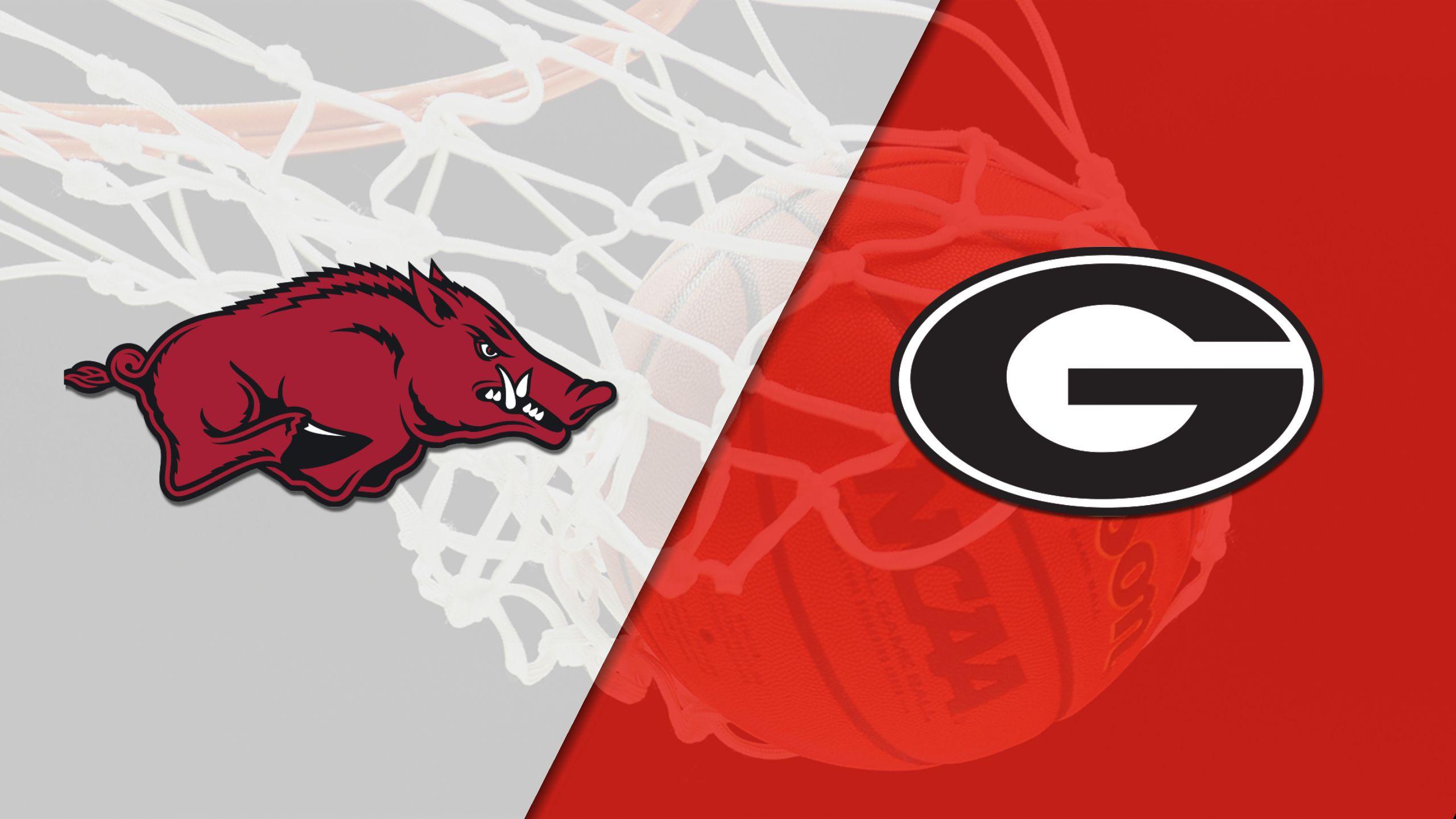 Arkansas vs. Georgia (W Basketball)