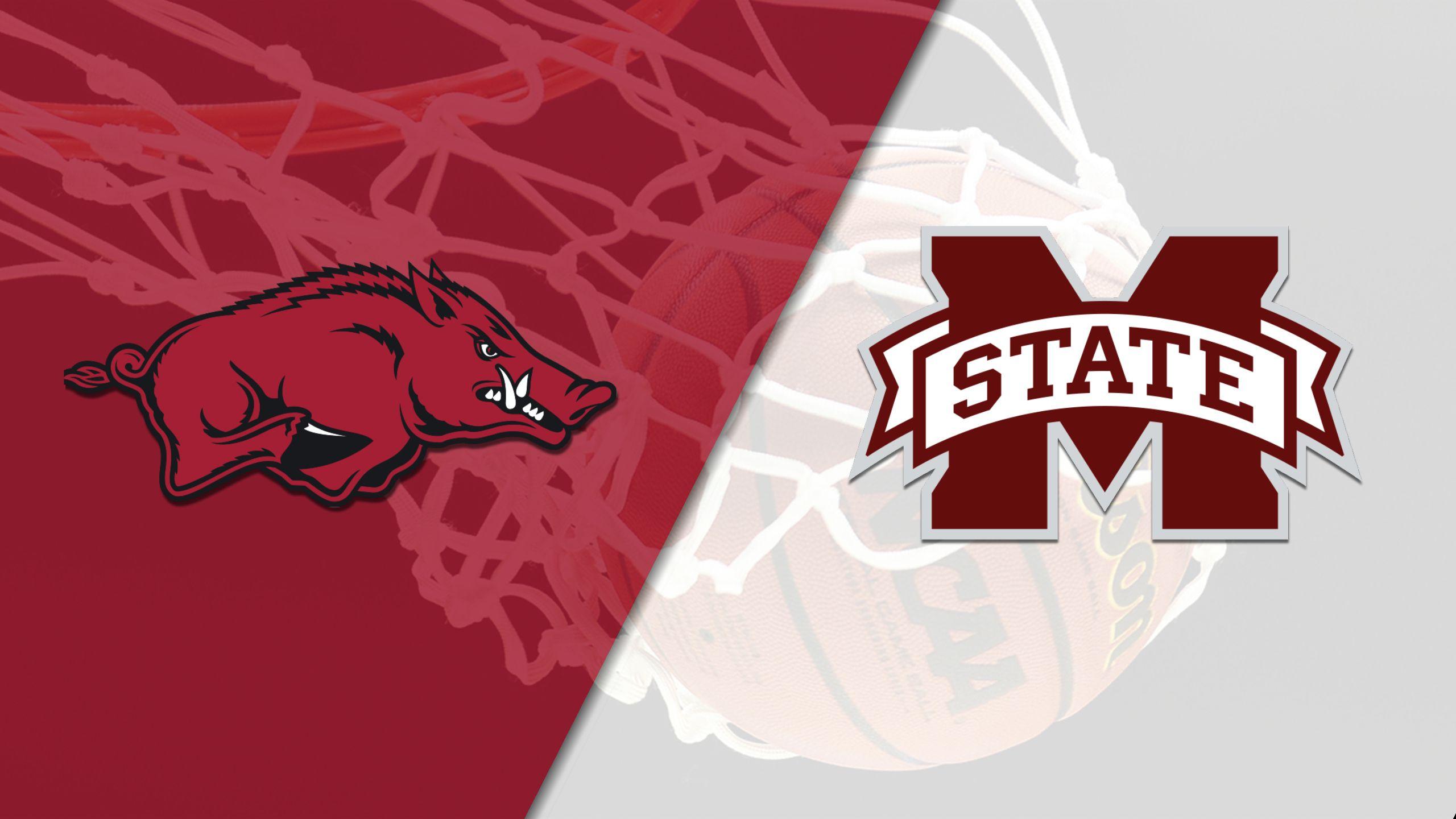 Arkansas vs. #5 Mississippi State (W Basketball)