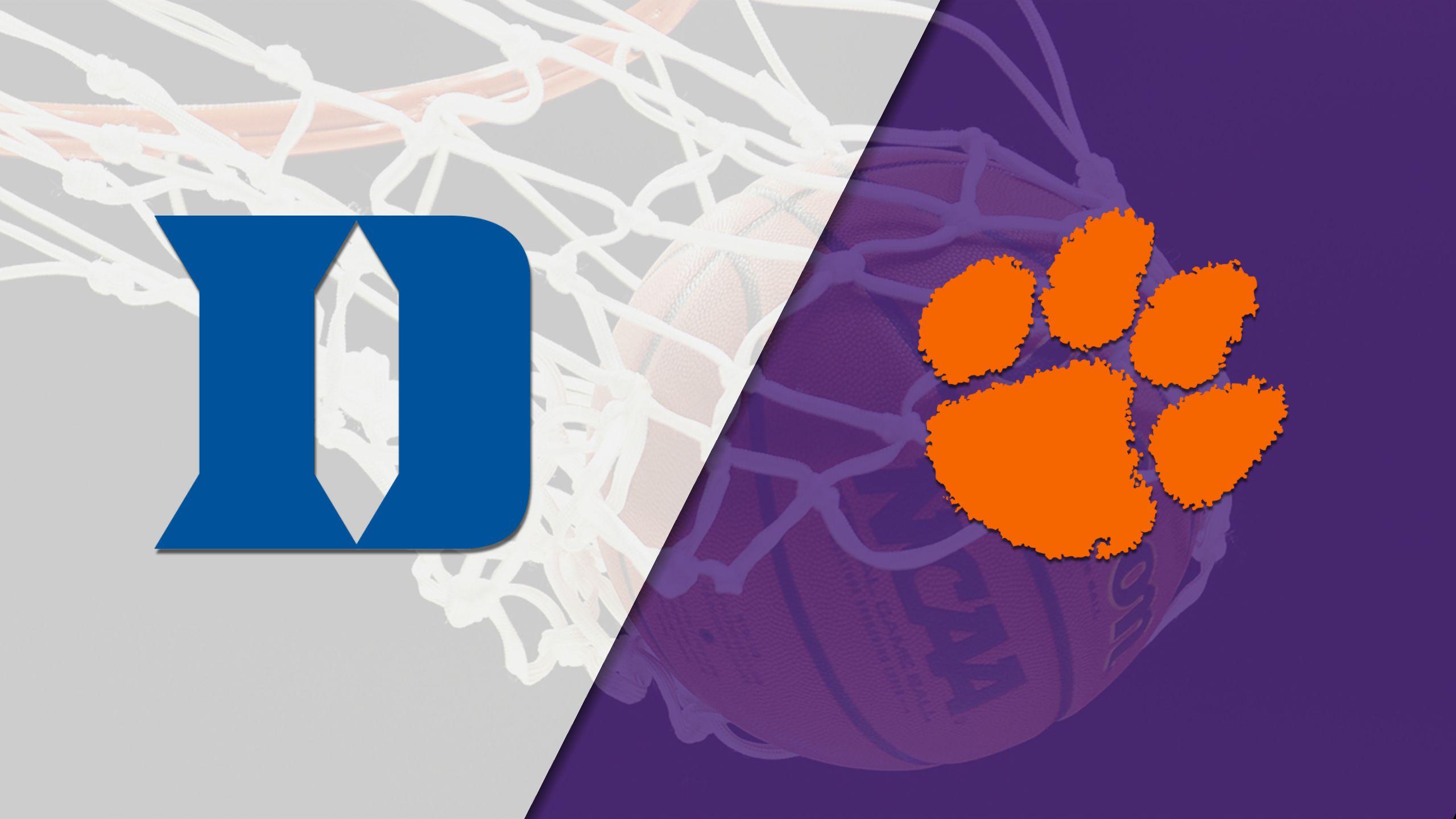 #19 Duke vs. Clemson (W Basketball)