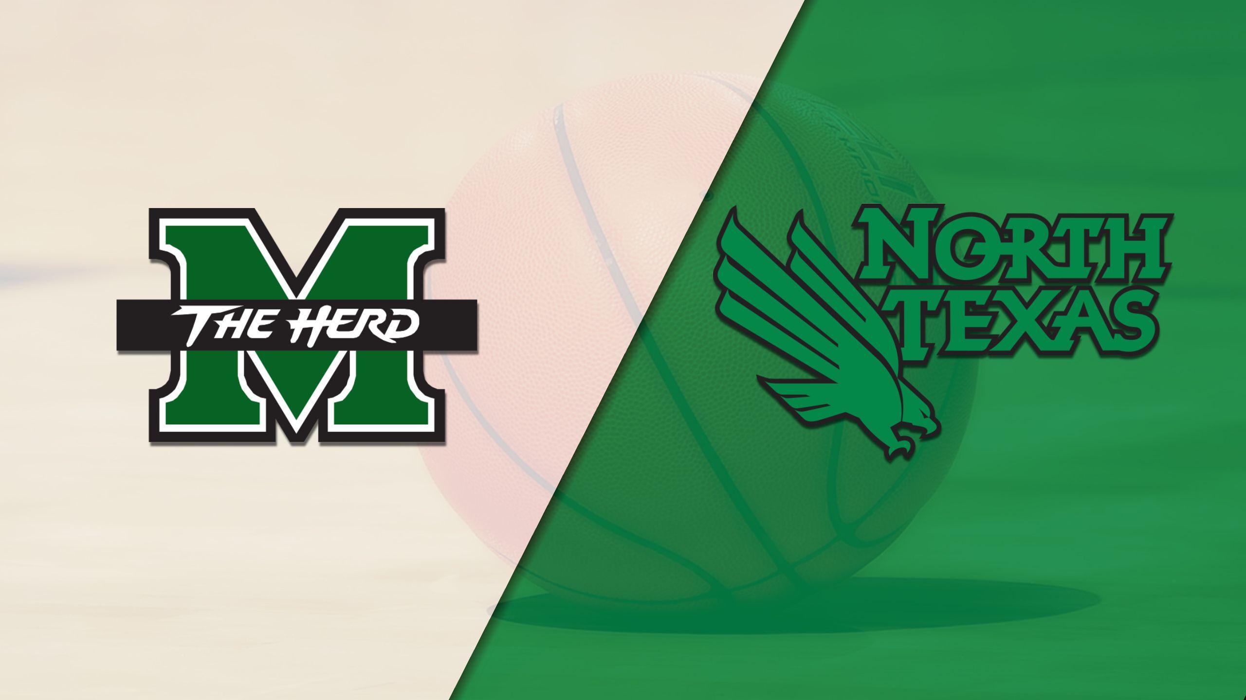 Marshall vs. North Texas (W Basketball)