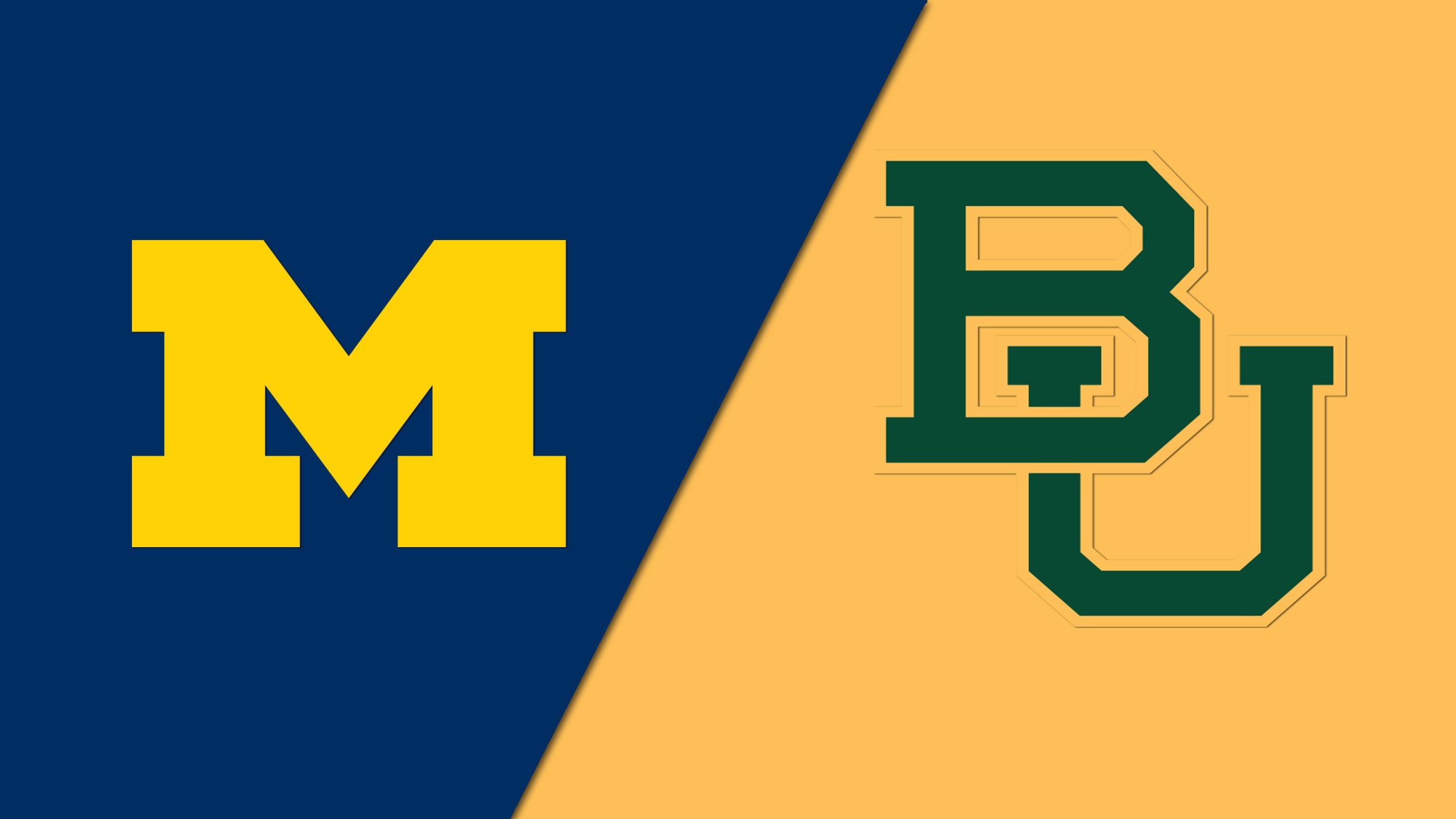 #7 Michigan vs. #2 Baylor (Second Round) (NCAA Women's Basketball Championship) (re-air)