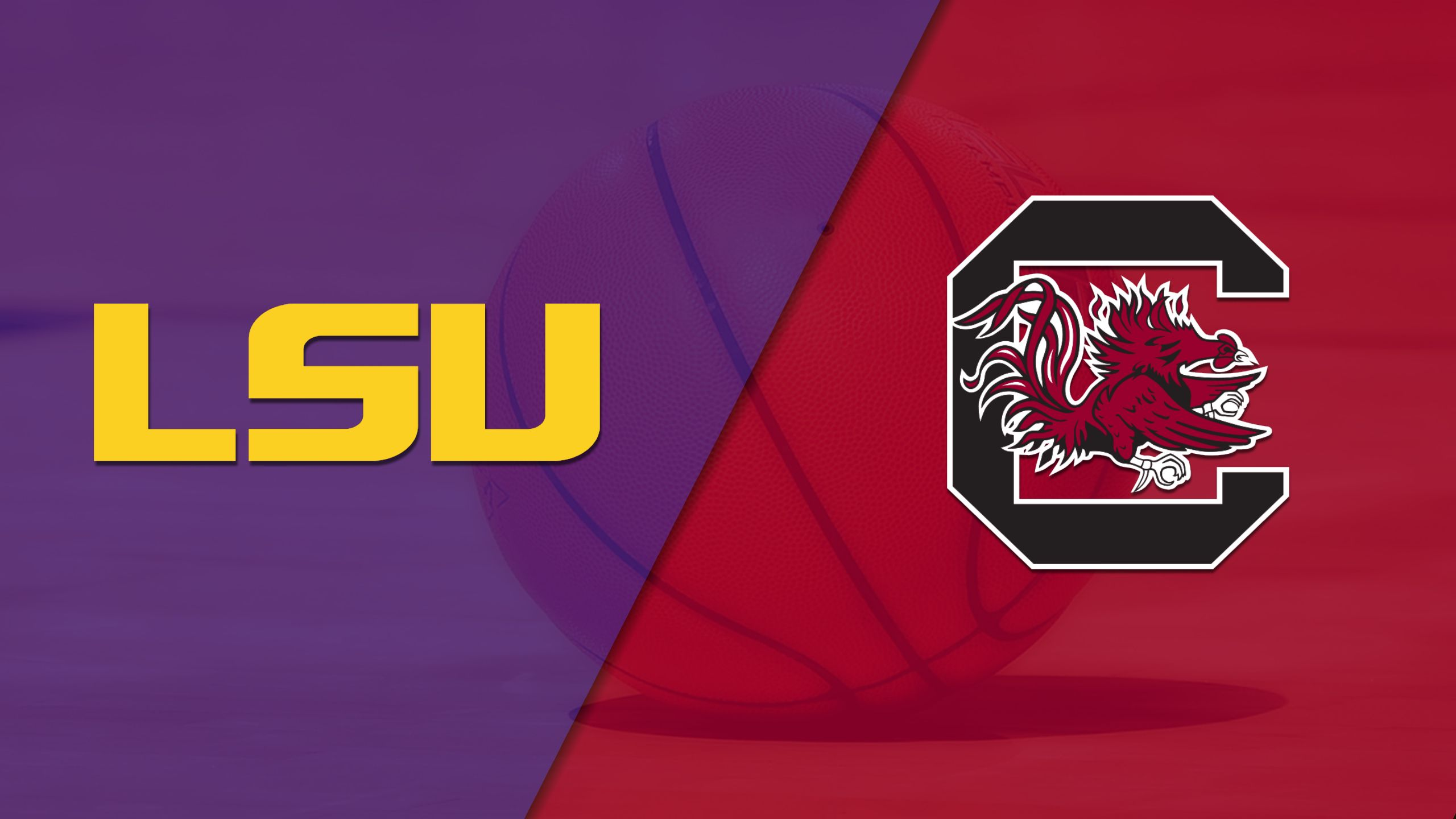 #24 LSU vs. #7 South Carolina (W Basketball) (re-air)