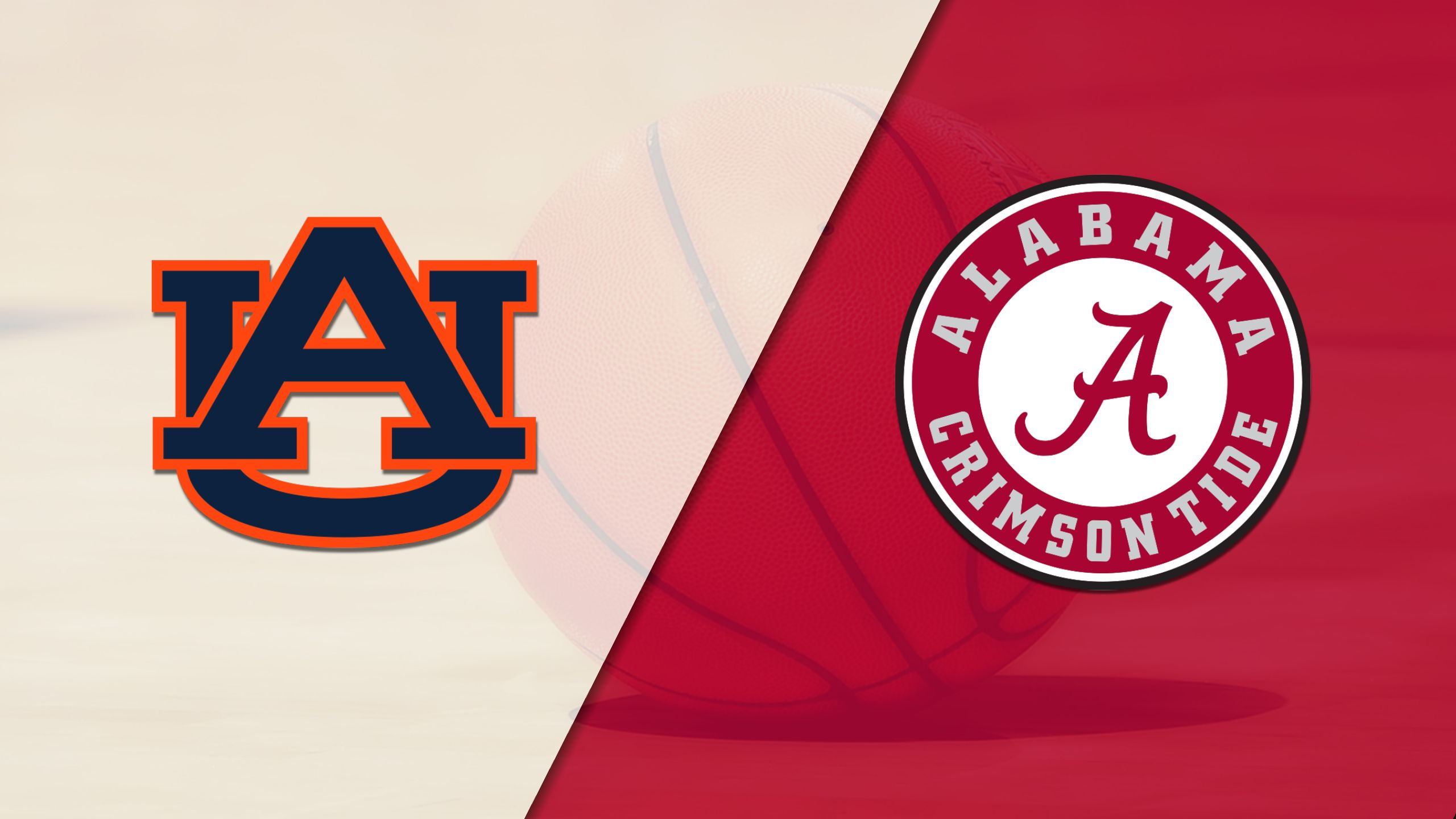 Auburn vs. Alabama (W Basketball) (re-air)